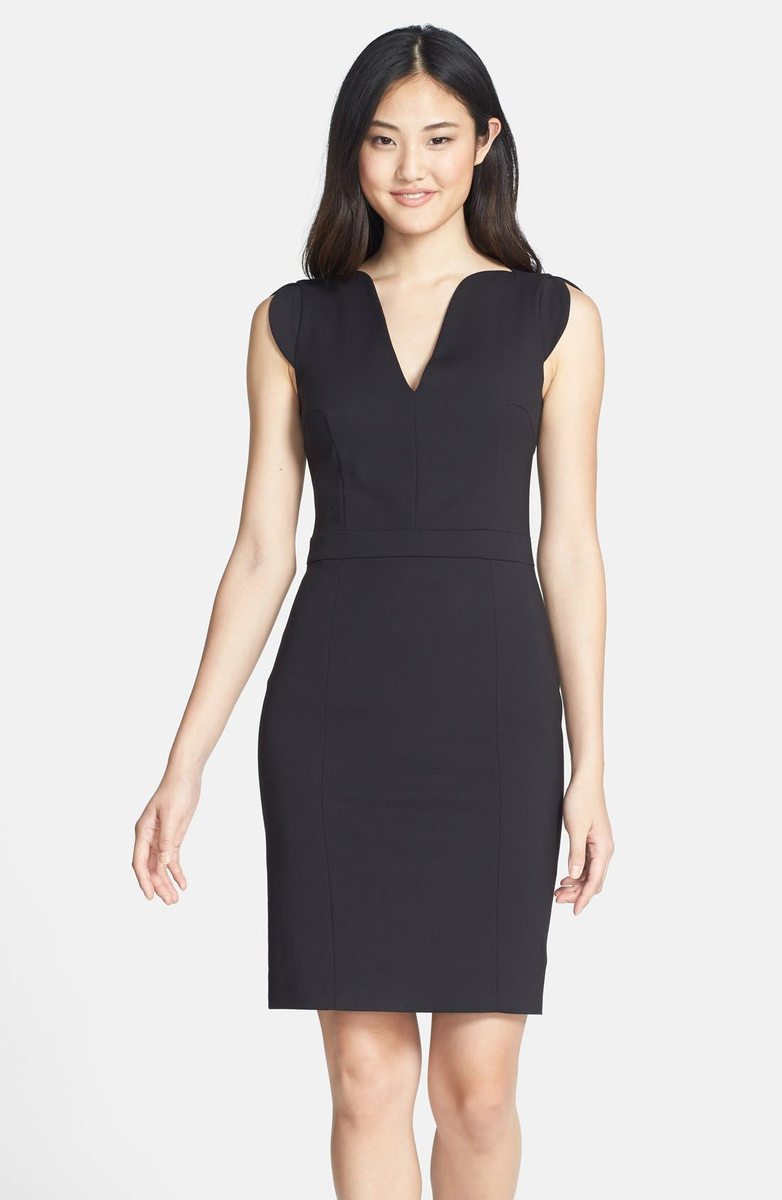 Alternate Image 1  - French Connection 'Lolo' Seamed Sheath Dress