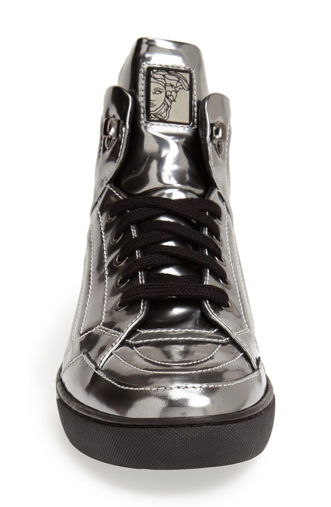 Alternate Image 3  - Versace Collection High Top Sneaker (Men)