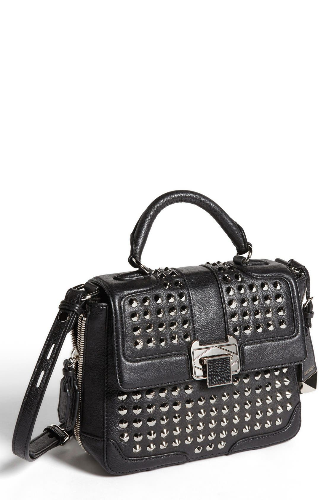 Main Image - Rebecca Minkoff 'Elle Mini with Studs' Crossbody Bag