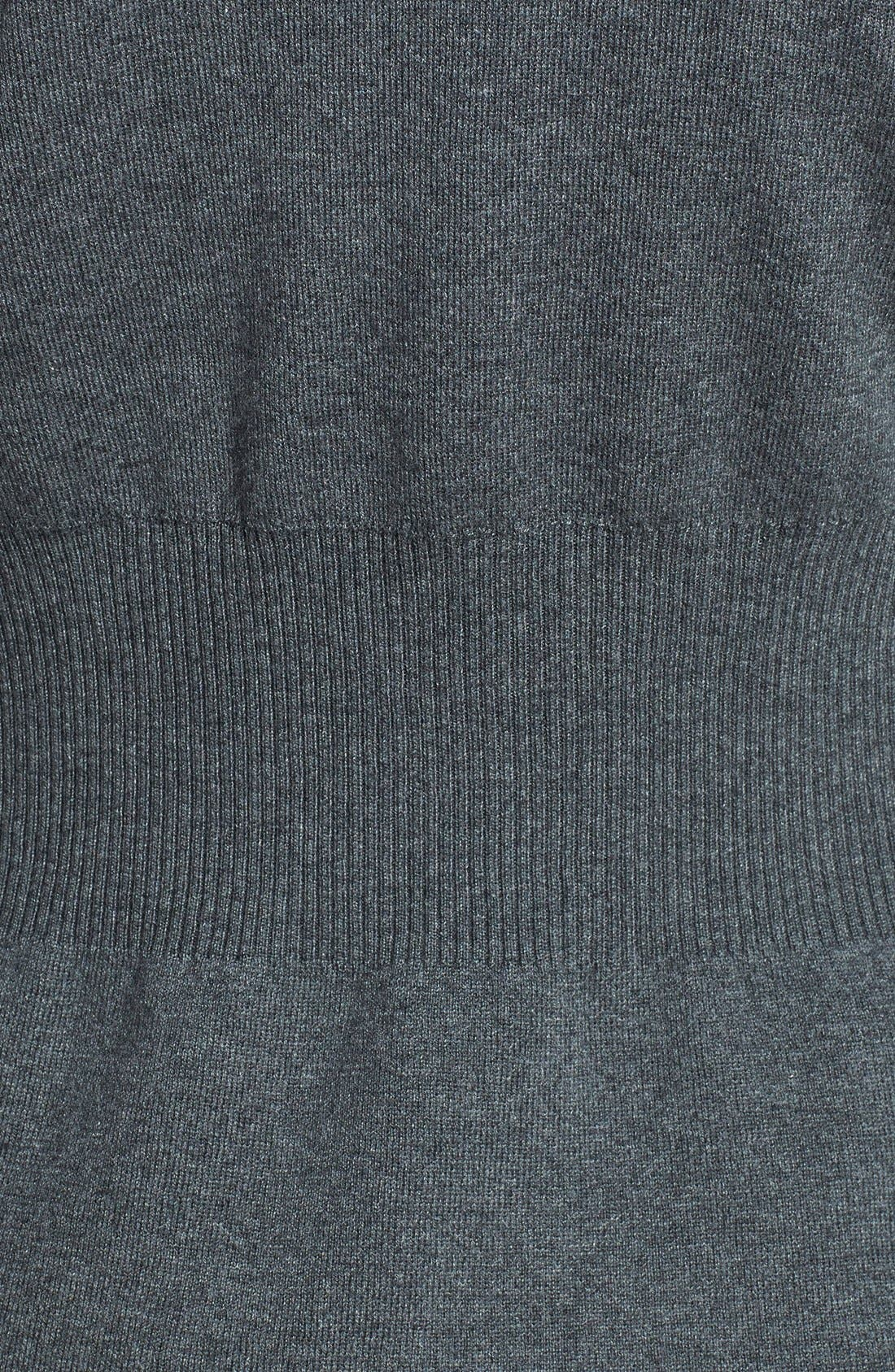 Alternate Image 3  - NIC+ZOE 'Back of the Chair' V-Neck Cardigan (Petite)