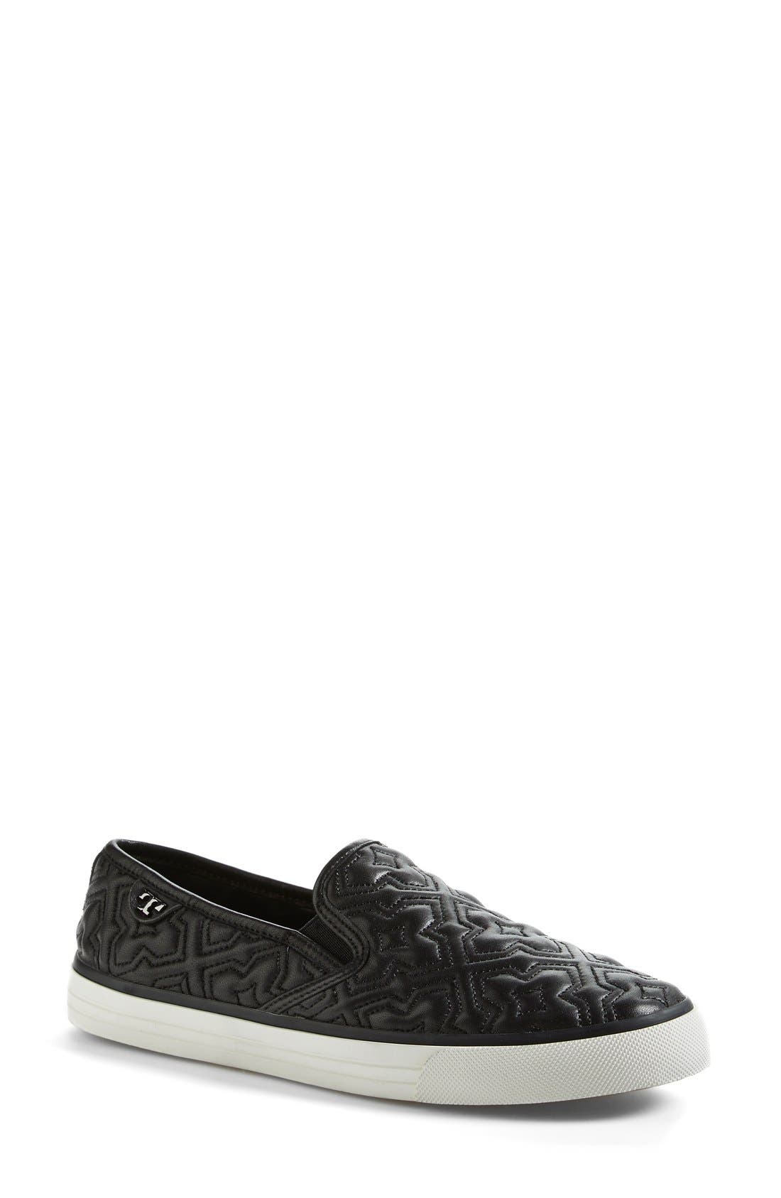 Alternate Image 1 Selected - Tory Burch 'Jesse 2' Quilted Sneaker (Women)