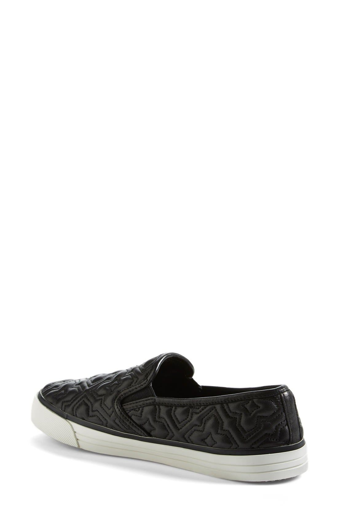 Alternate Image 2  - Tory Burch 'Jesse 2' Quilted Sneaker (Women)
