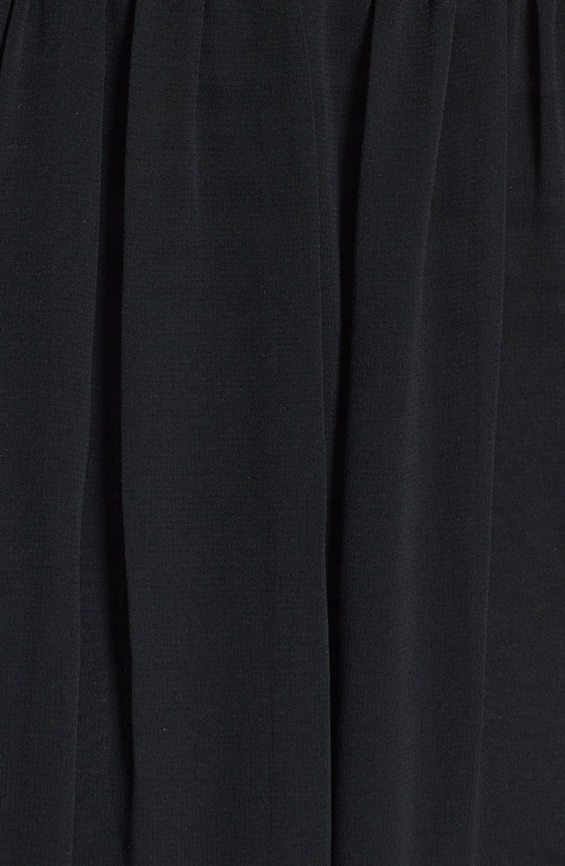 Alternate Image 3  - Felicity & Coco Chiffon Overlay Sleeveless Jersey Dress (Nordstrom Exclusive)