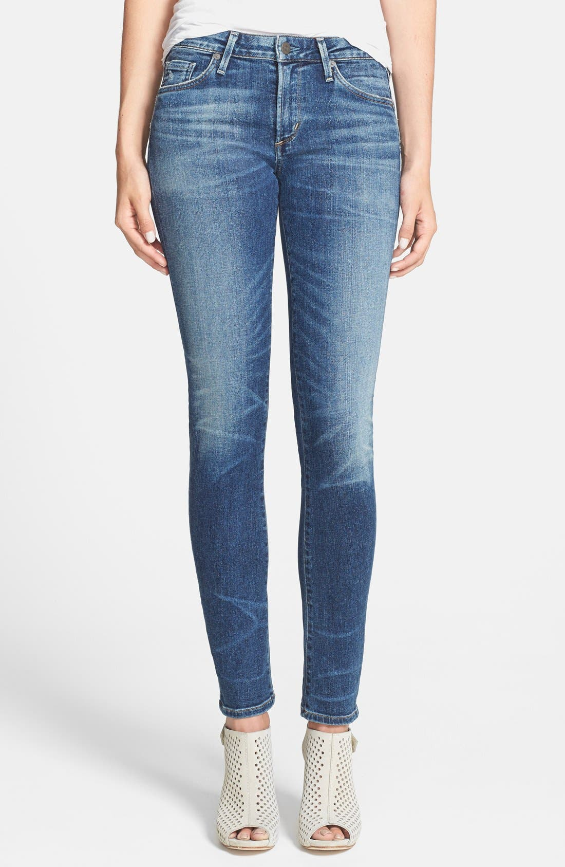 Alternate Image 1  - Citizens of Humanity 'Arielle' Ultra Skinny Jeans (Weekend)