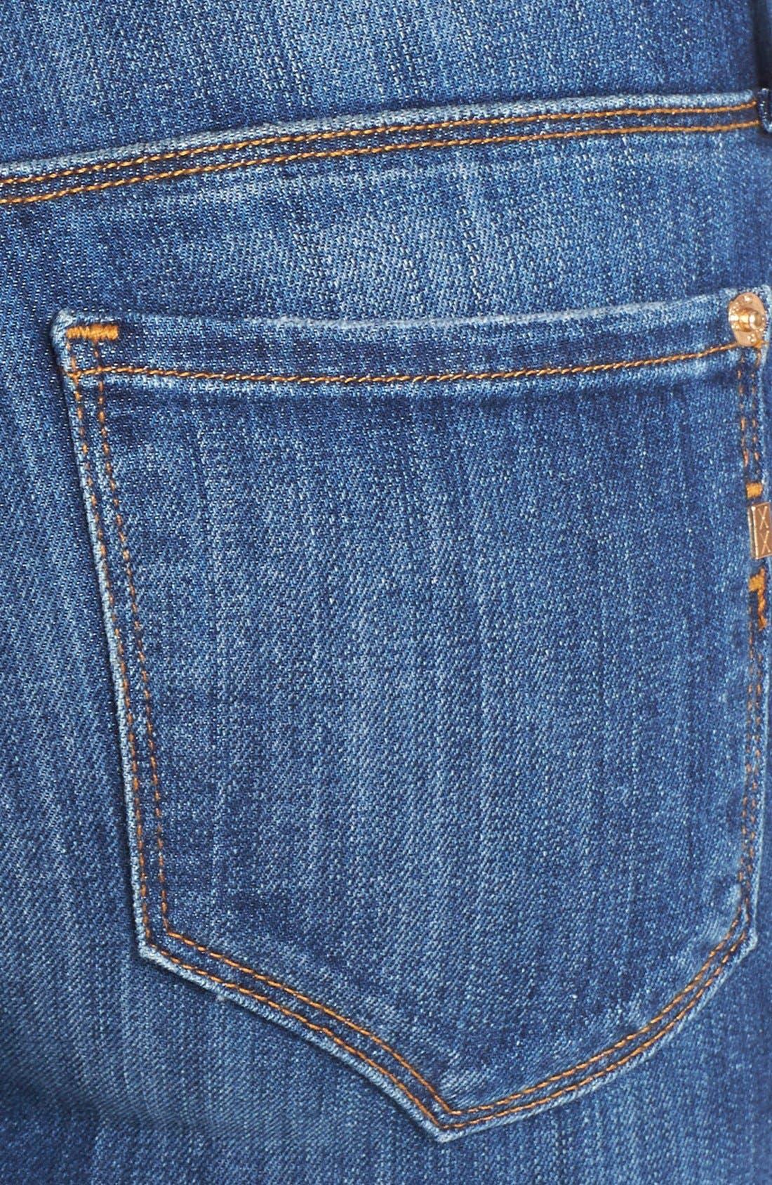 Alternate Image 3  - Genetic 'Stem' Mid Rise Skinny Jeans (Arena)