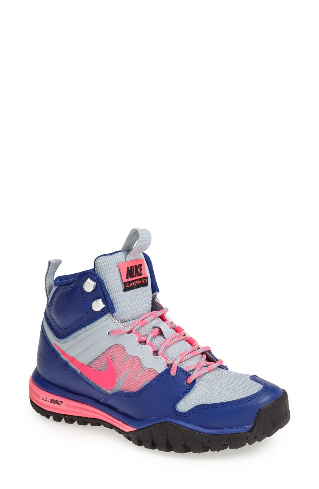 Alternate Image 1 Selected - Nike 'Dual Fusion Hills Mid' Walking Shoe (Women)