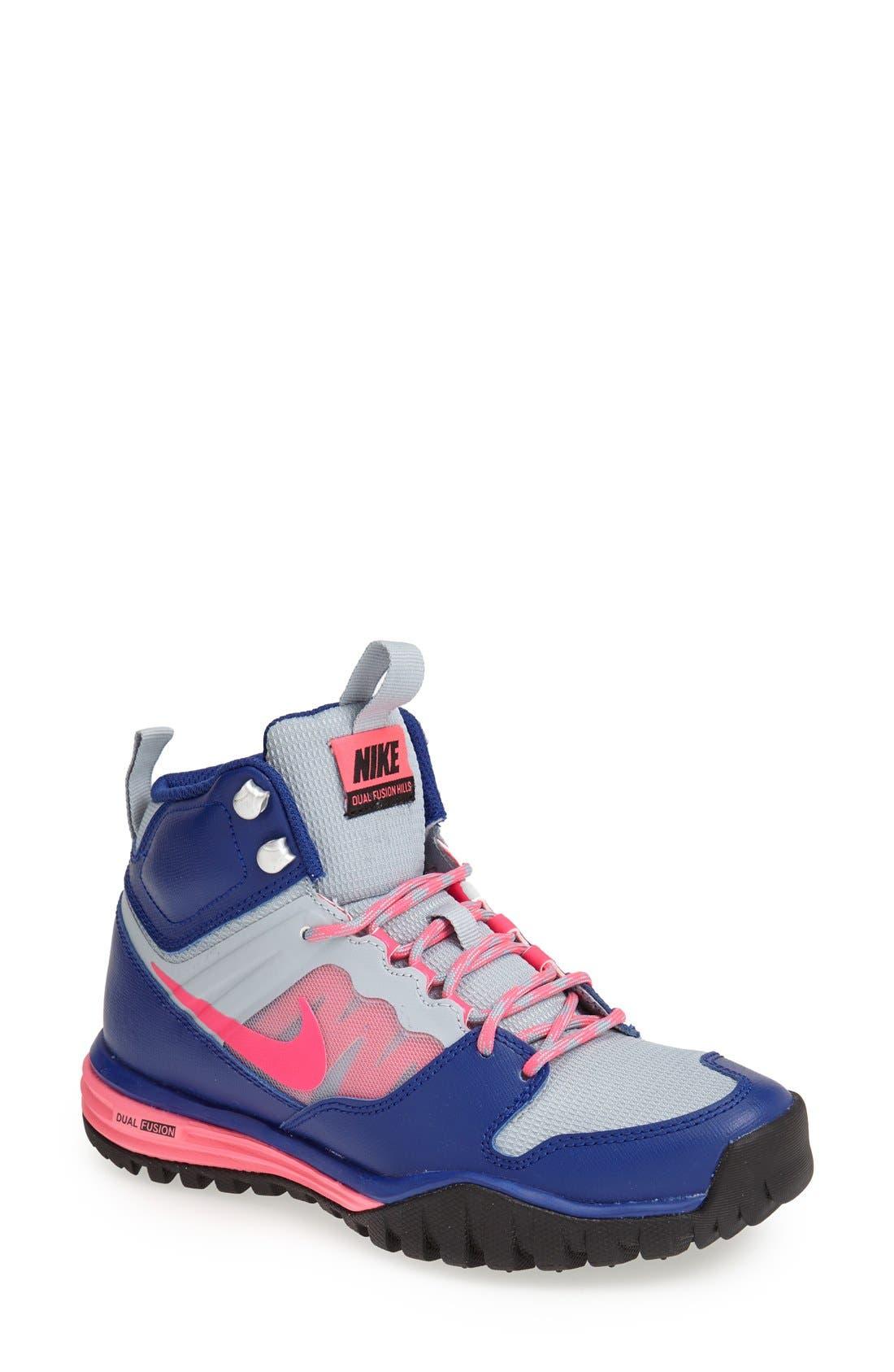 Main Image - Nike 'Dual Fusion Hills Mid' Walking Shoe (Women)