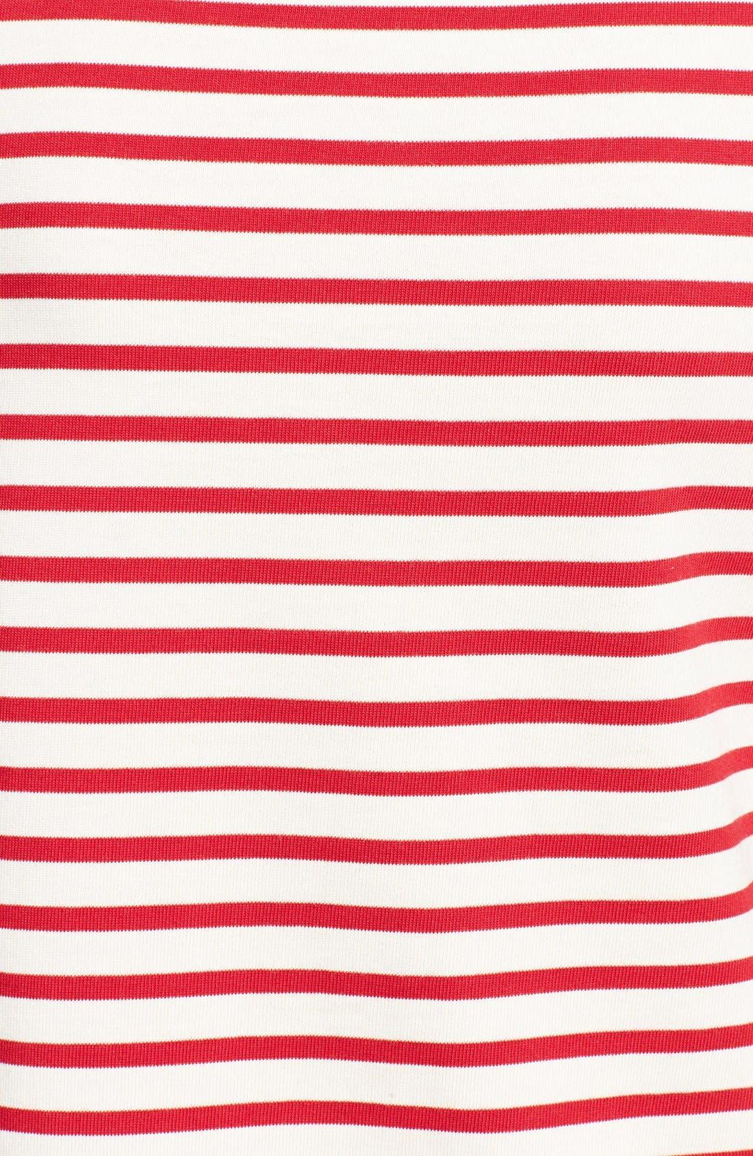 Alternate Image 3  - Tory Burch 'Tessa' Stripe Cotton Top