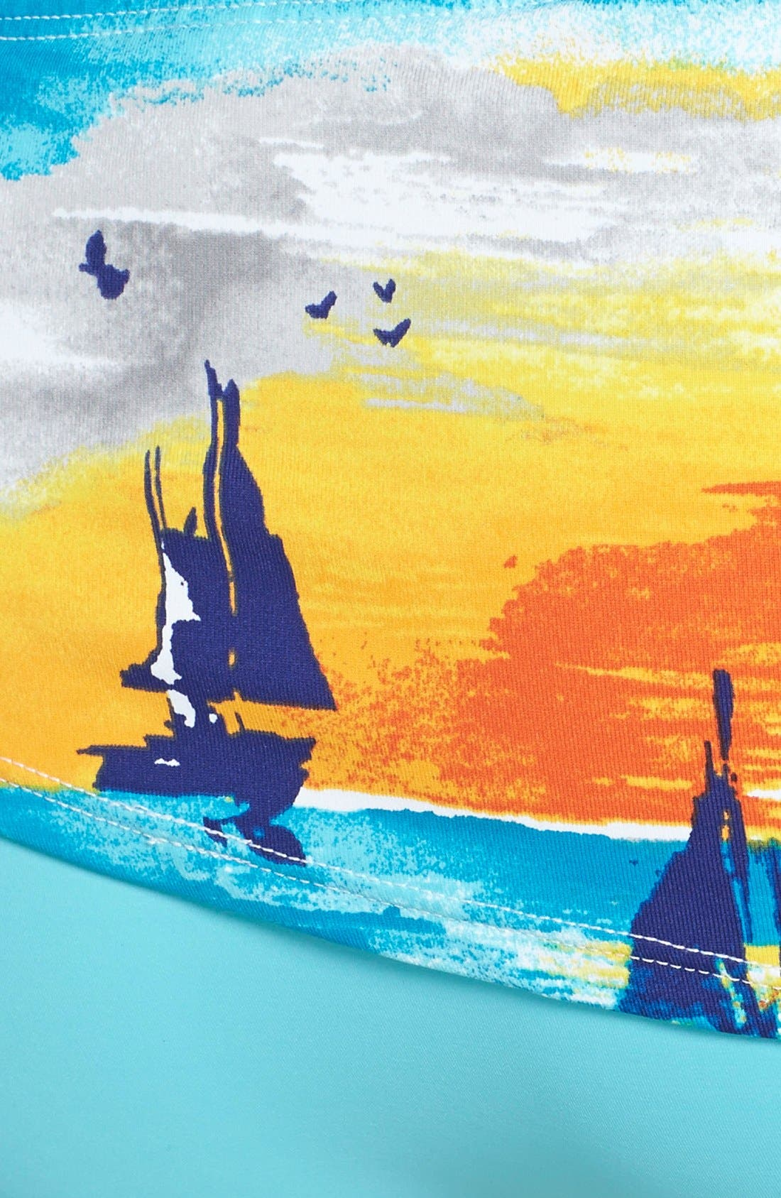 Alternate Image 5  - Tommy Bahama 'Tequila Sunrise' Twist Bandeau Bikini Top