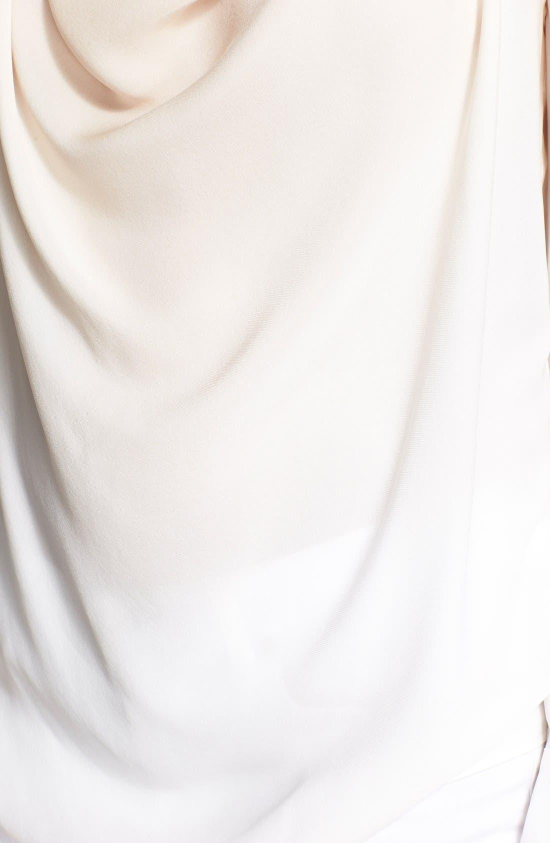 Alternate Image 3  - Haute Hippie Draped Ombré Silk Top