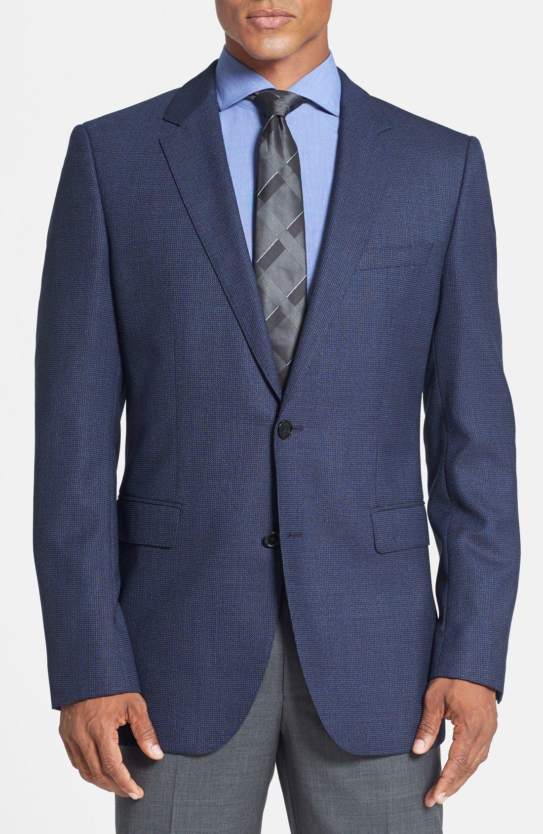 Main Image - BOSS HUGO BOSS 'James' Trim Fit Wool Blazer