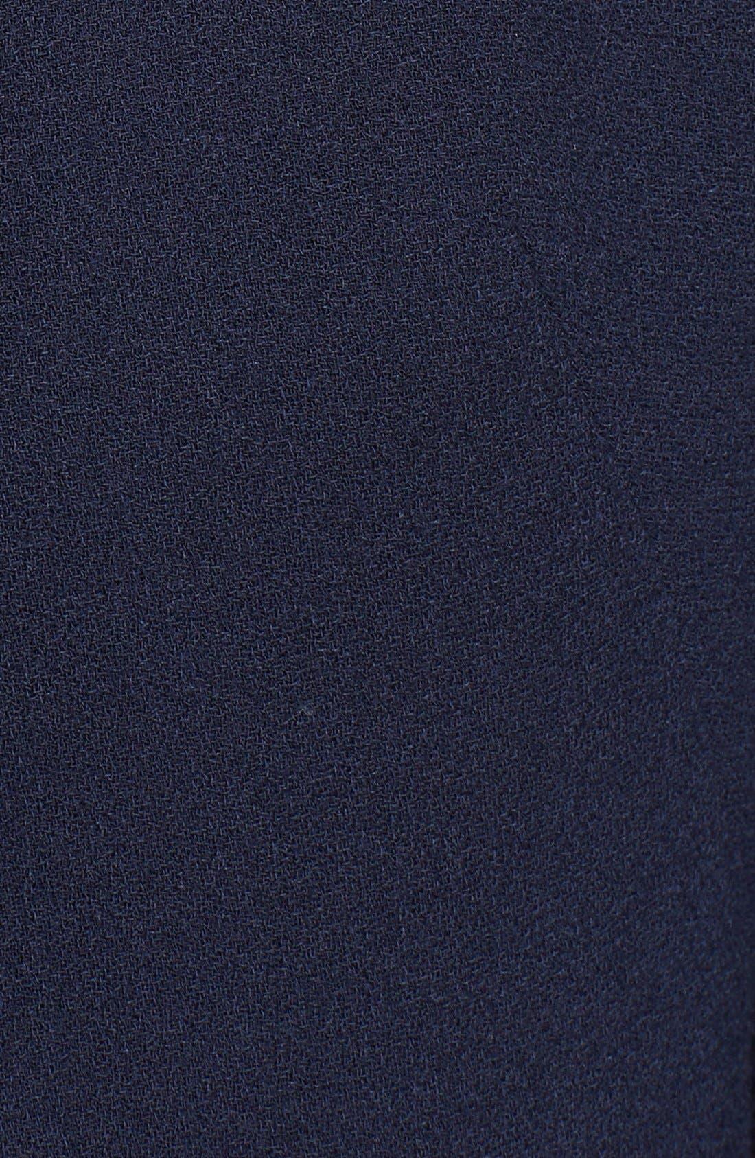 Alternate Image 4  - Alexander McQueen Peplum Wool Coat