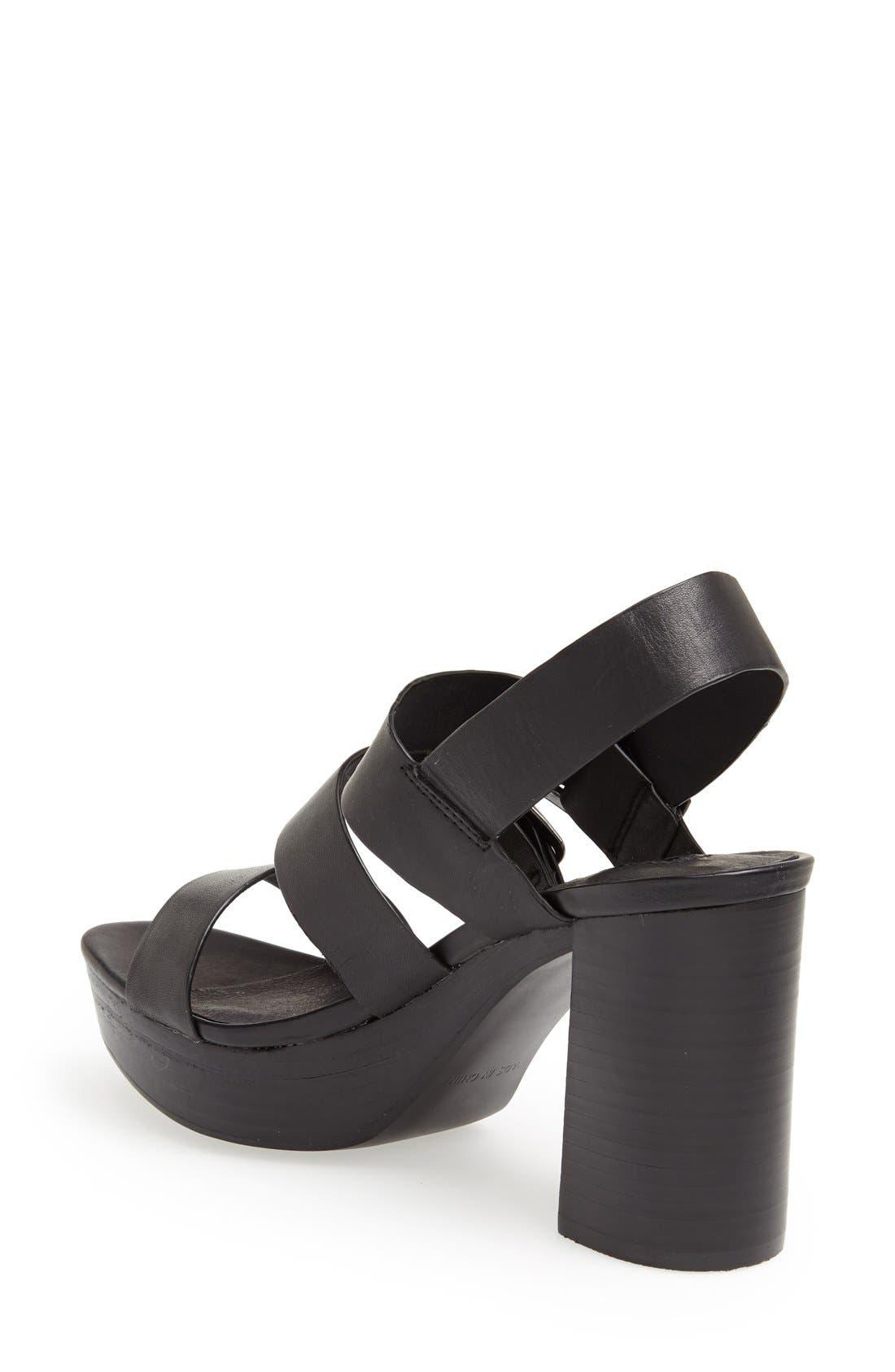 Alternate Image 2  - Topshop 'Lawless' Platform Sandal (Women)