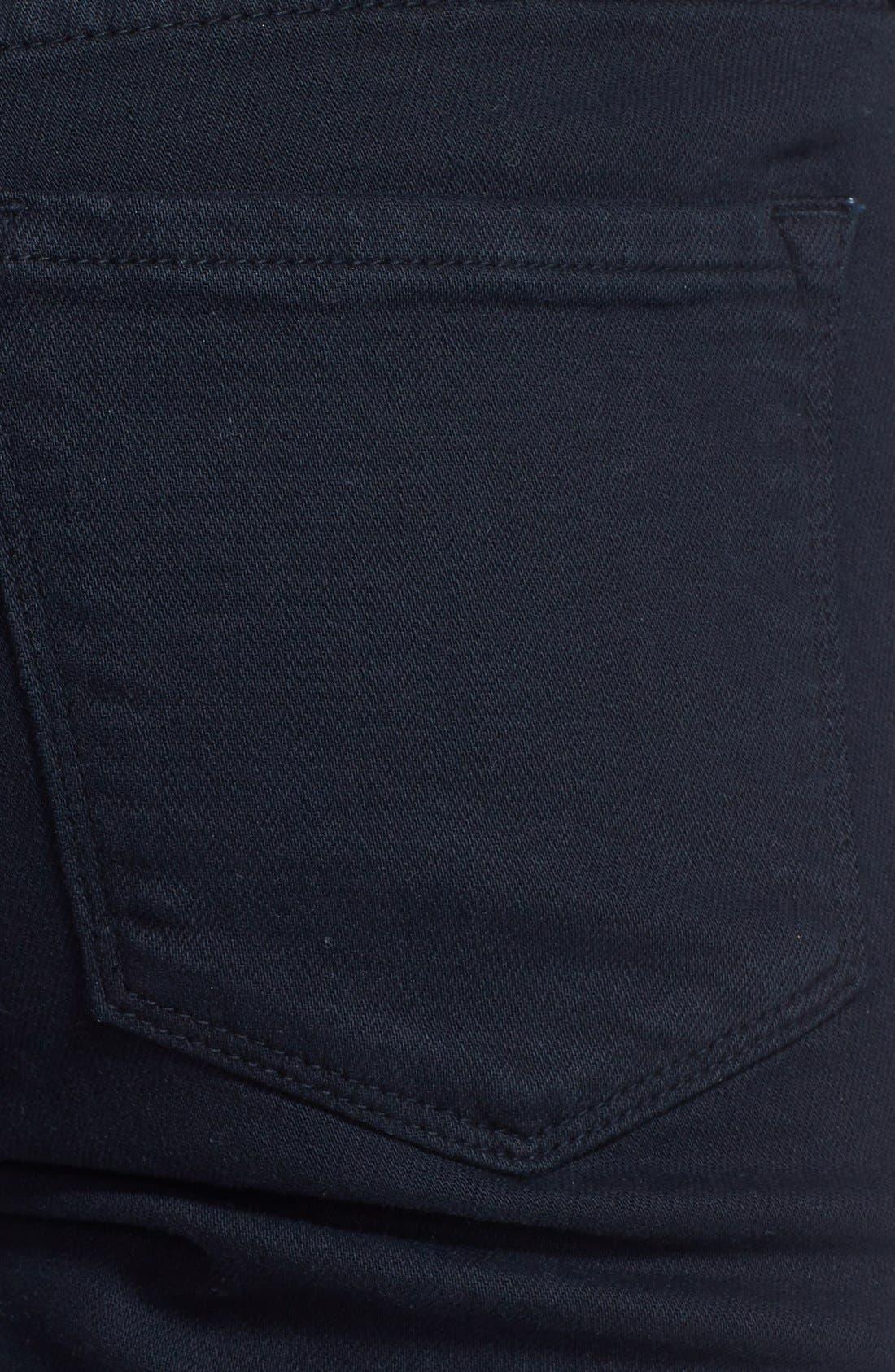 Alternate Image 3  - Frame Denim 'Le Garcon' Boyfriend Jeans (Noir)