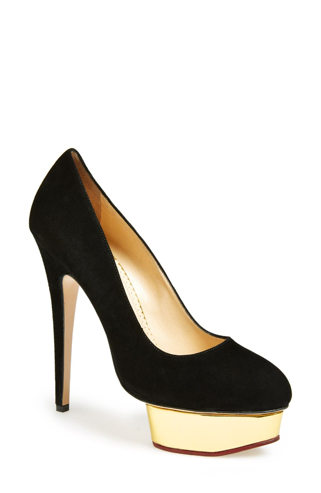 Alternate Image 1 Selected - Charlotte Olympia 'Dolly' Pump (Women)