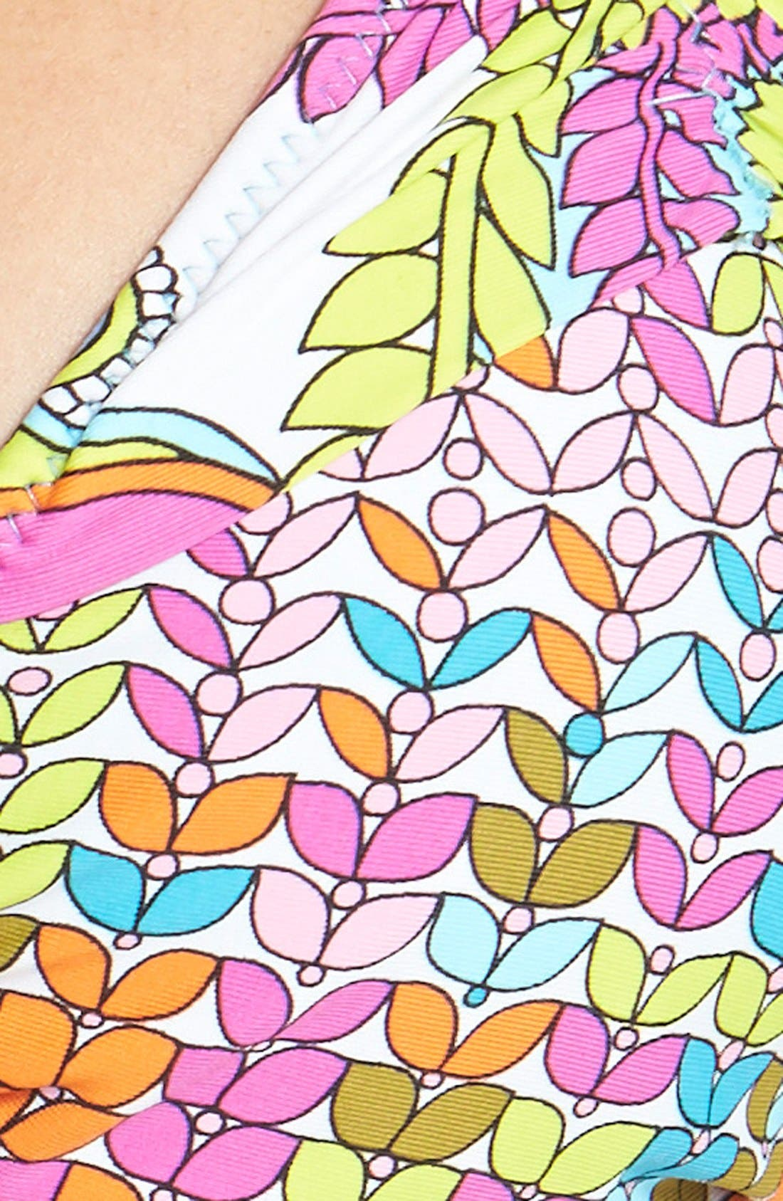 Alternate Image 5  - Trina Turk 'Coral Reef' Triangle Slider Bikini Top
