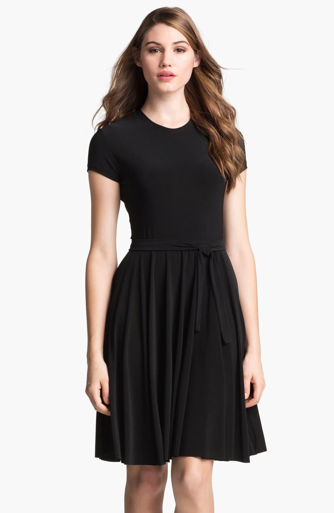 Alternate Image 1  - KAMALIKULTURE Jersey Fit & Flare Dress