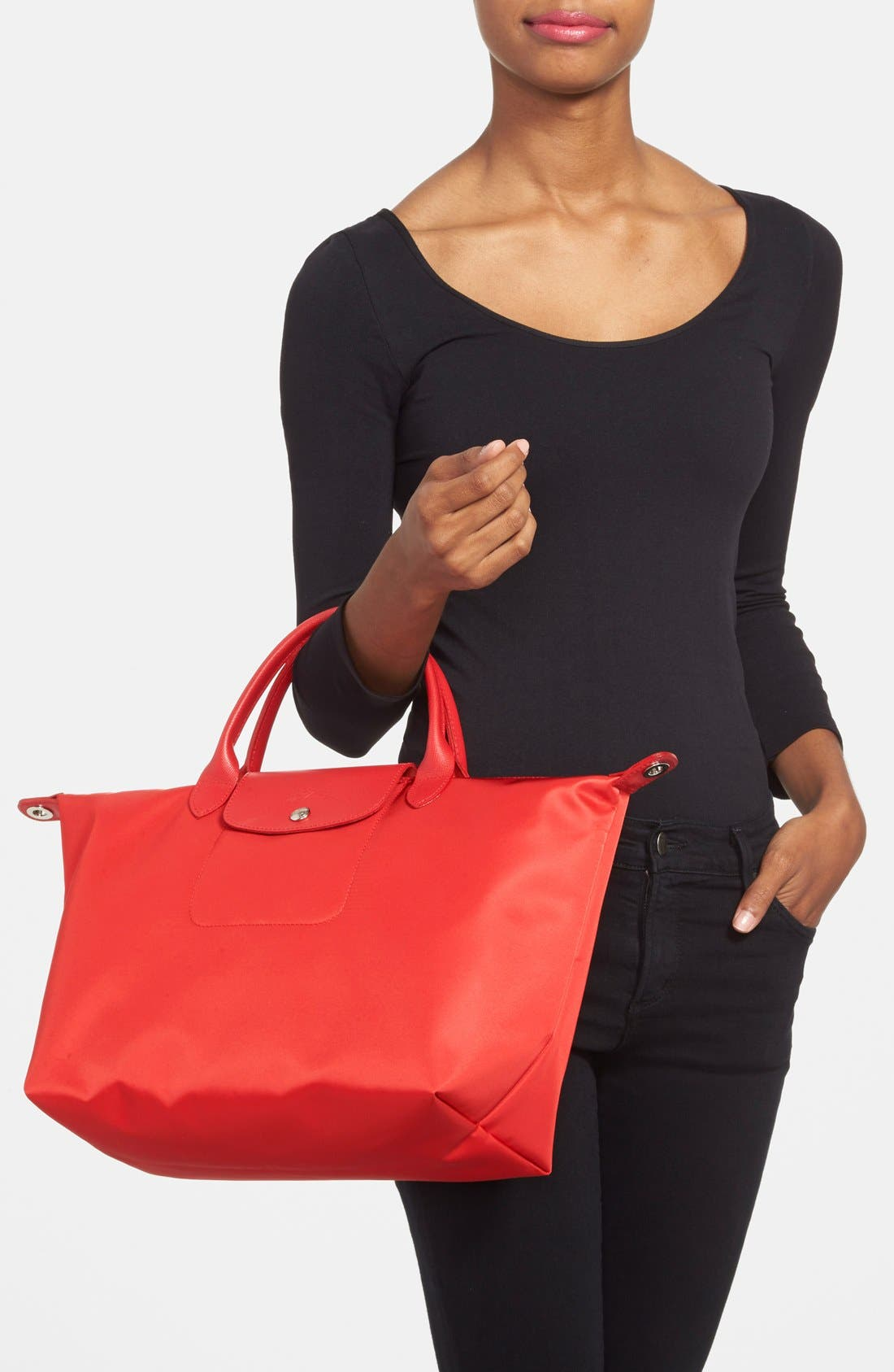 Alternate Image 2  - Longchamp 'Le Pliage Neo - Medium' Tote