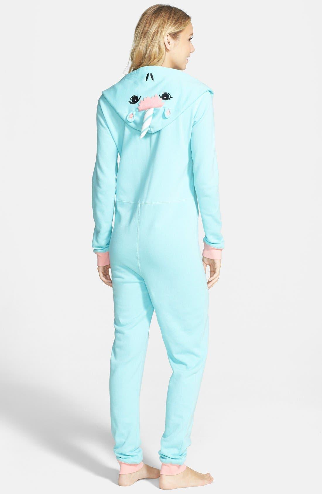 Alternate Image 2  - BP. Undercover Unicorn Jumpsuit (Juniors)