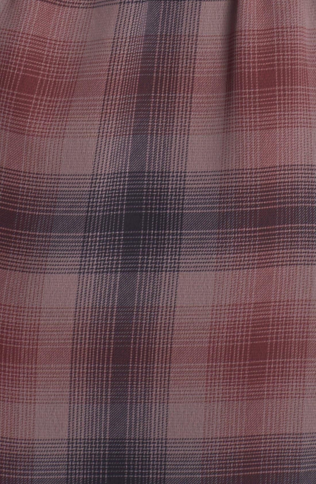 Alternate Image 3  - Halogen® Belted Pleat Front Dress (Regular & Petite)