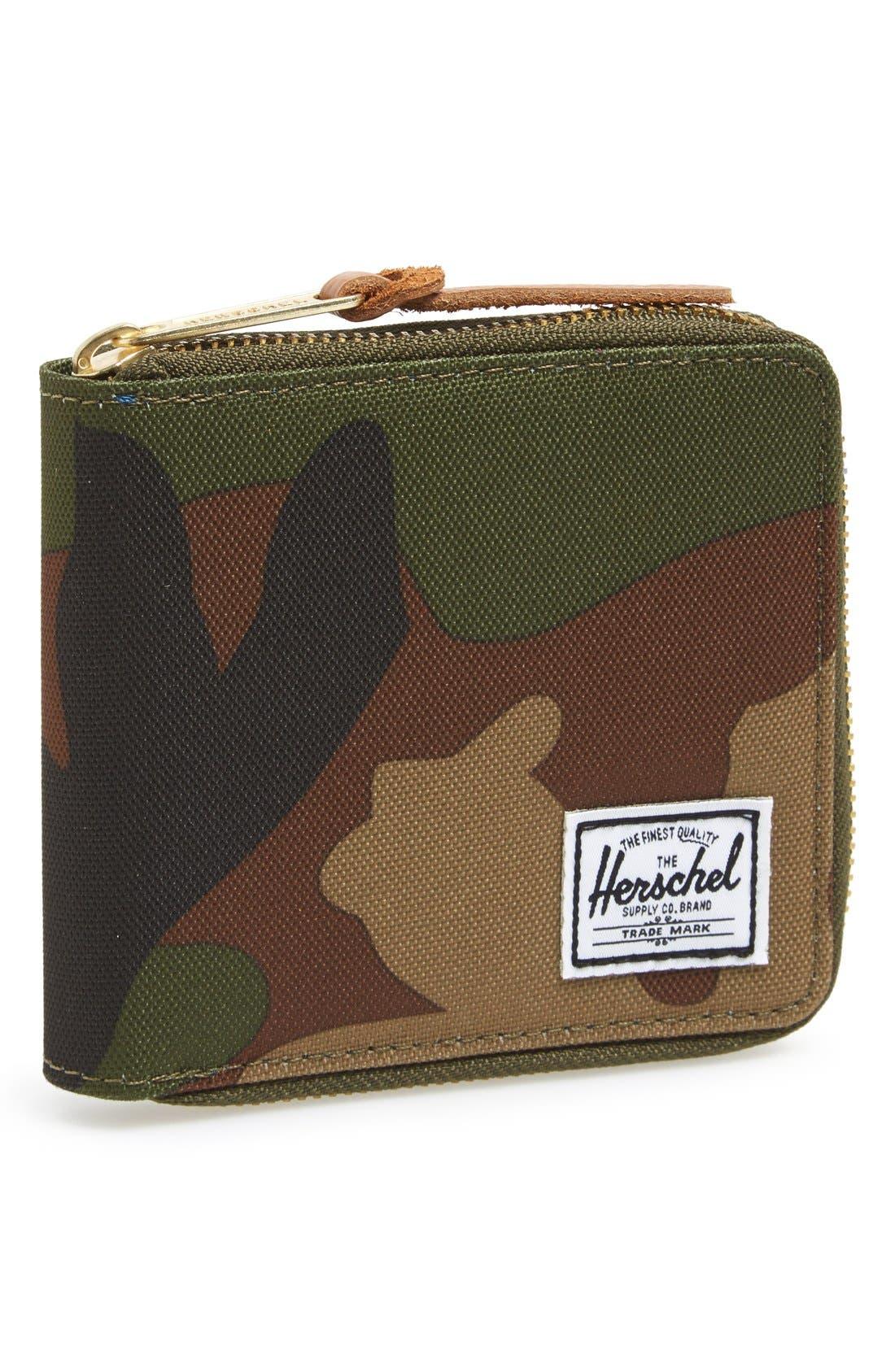 Alternate Image 1 Selected - Herschel Supply Co. 'Walt' Zip Wallet