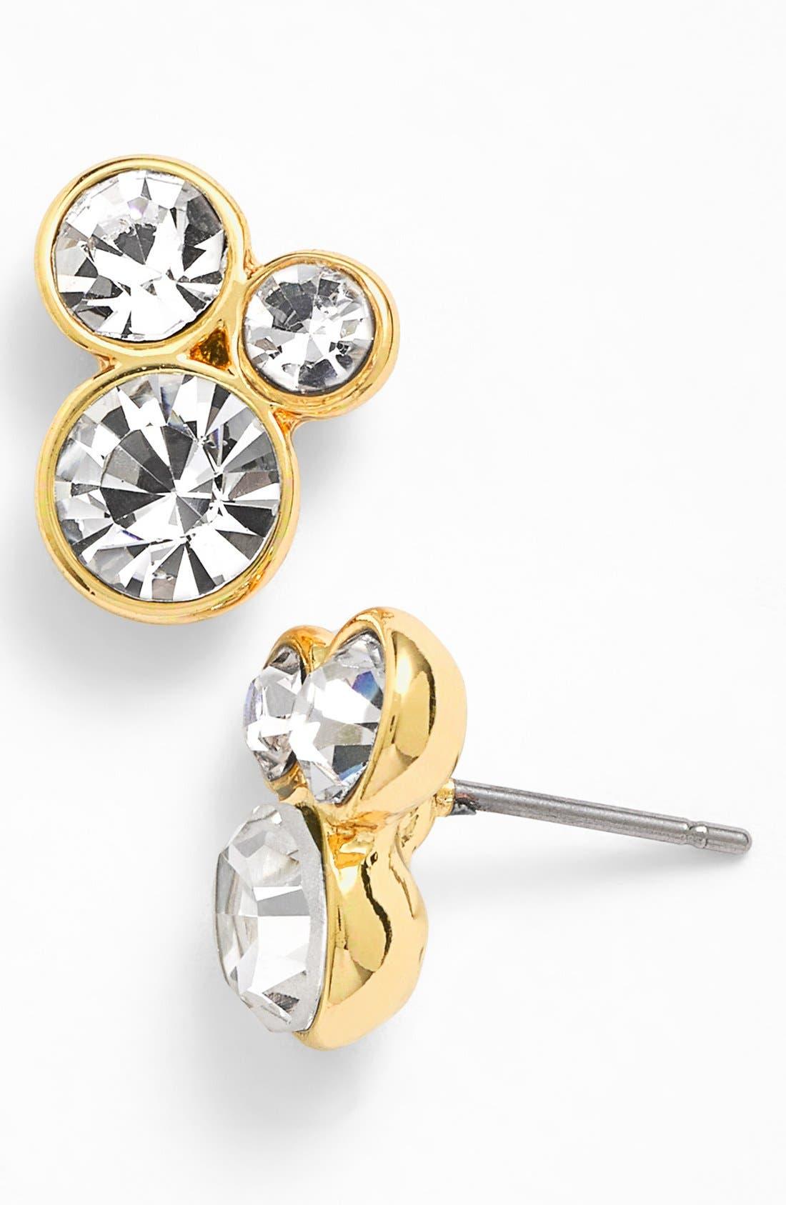 Alternate Image 1 Selected - Anne Klein Cluster Stud Earrings