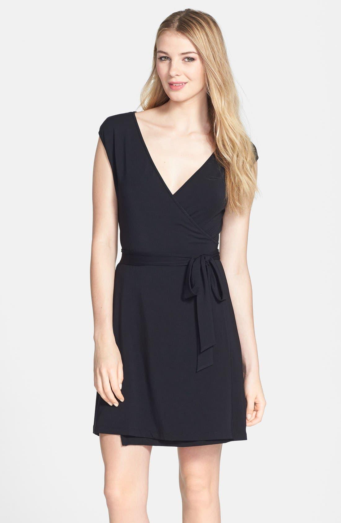 Alternate Image 1 Selected - Tart 'Rina' Reversible Wrap Dress