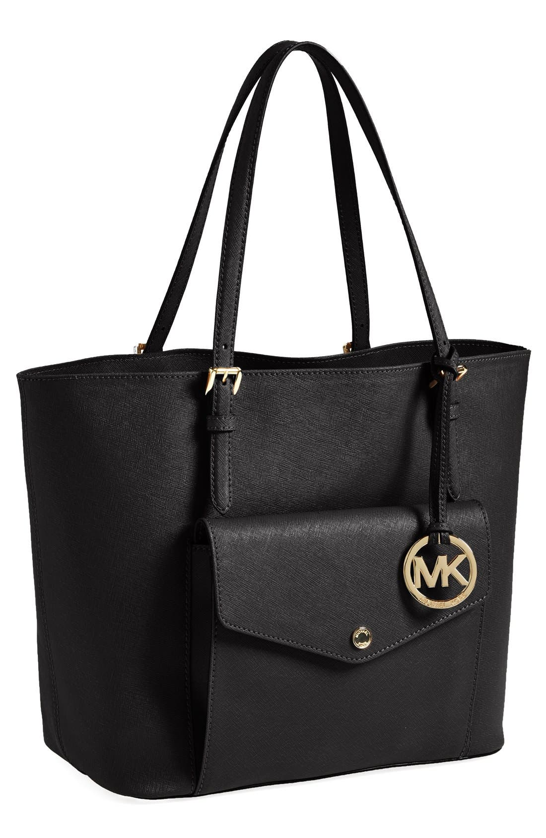 Main Image - MICHAEL Michael Kors 'Large Jet Set' Multifunction Travel Tote (Nordstrom Exclusive)