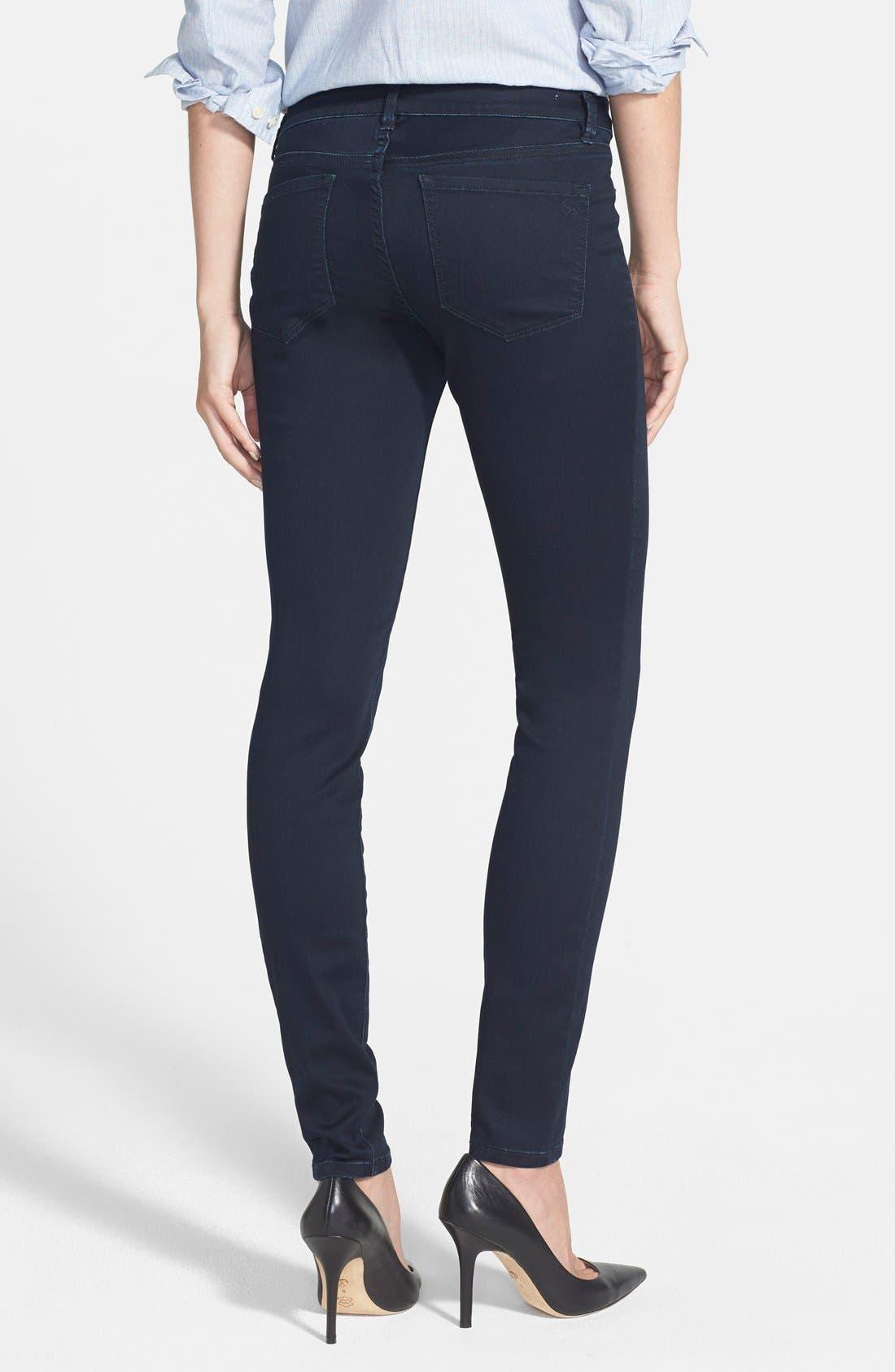 Alternate Image 2  - Jessica Simpson 'Kiss Me' Super Skinny Jeans (Enzyme Rinse)