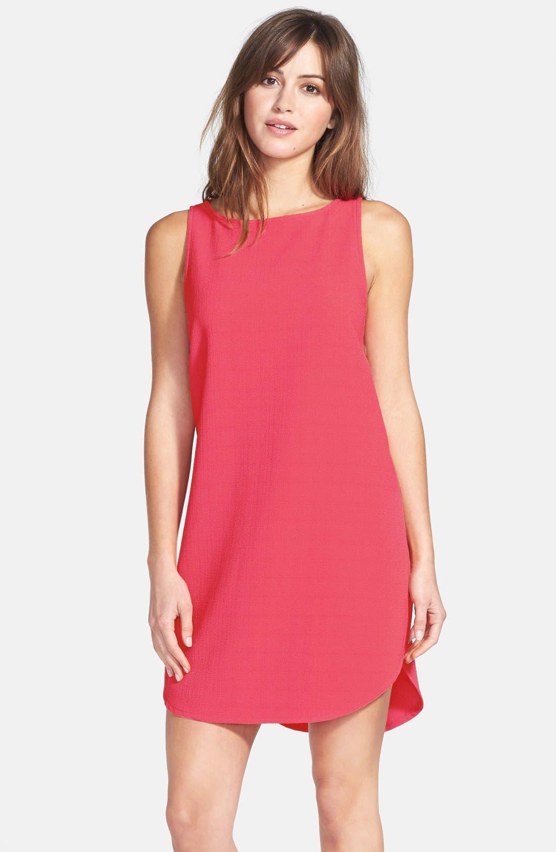 Alternate Image 1 Selected - BB Dakota 'Mariam' Cutout Back Textured Dress