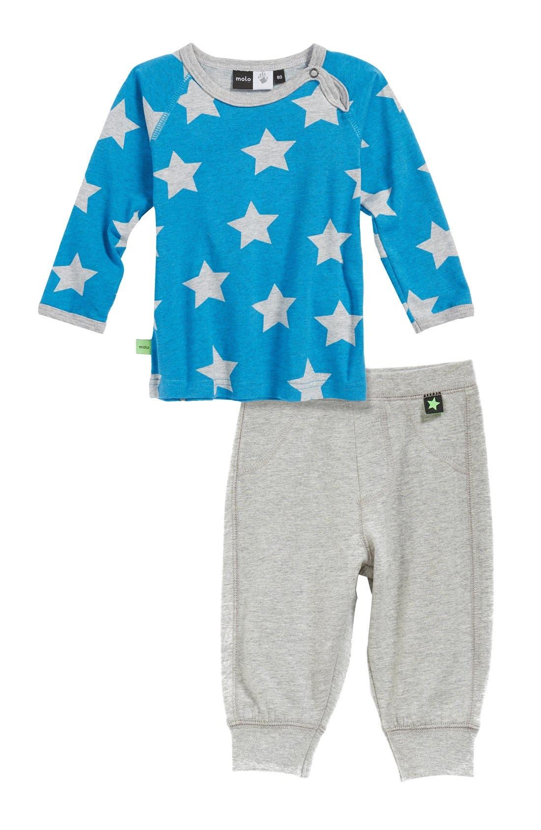 Alternate Image 2  - molo 'Scott' Sweatpants (Baby Boys)