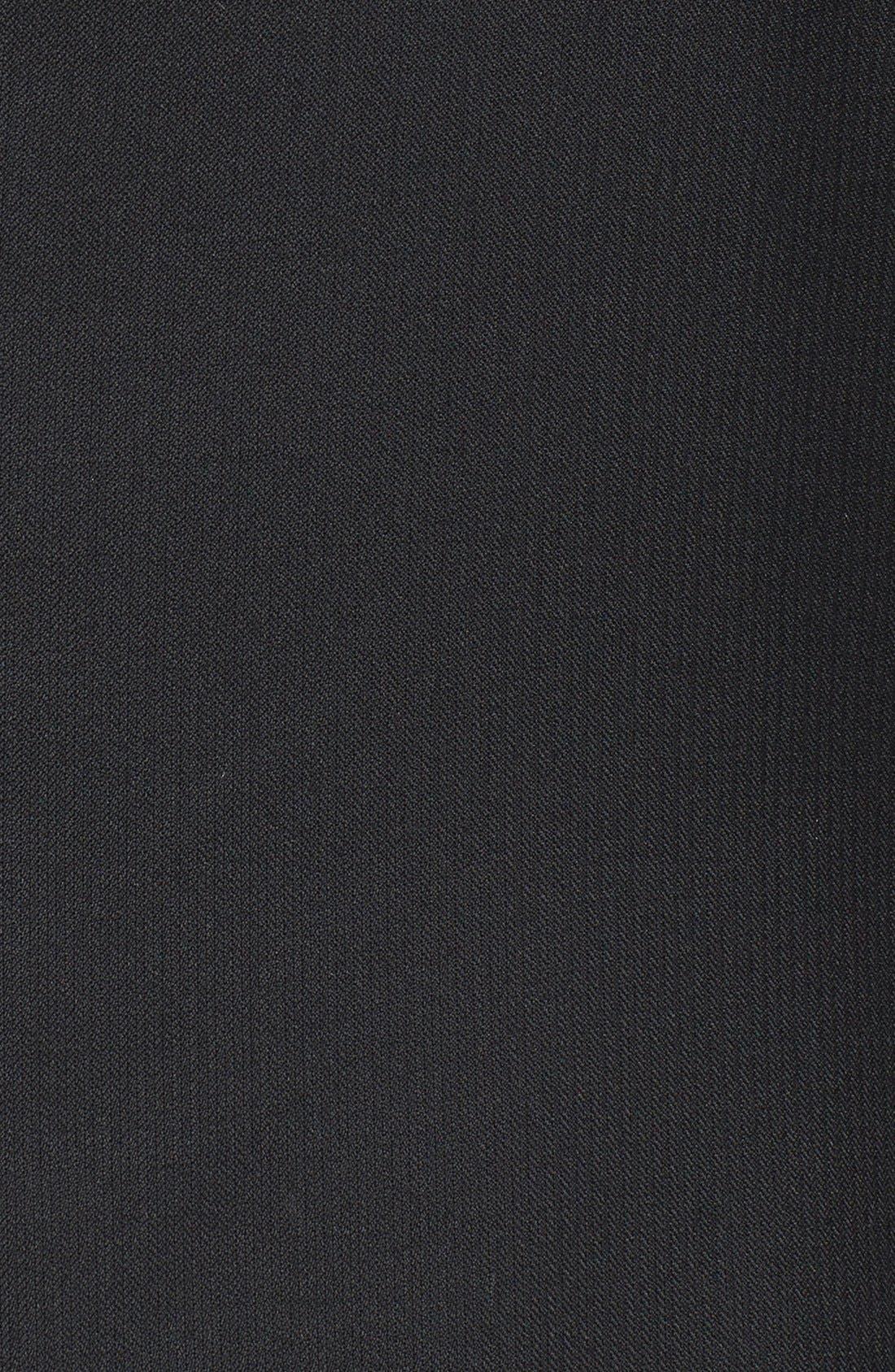 Alternate Image 3  - Peter Millar Classic Fit Black Wool Sport Coat