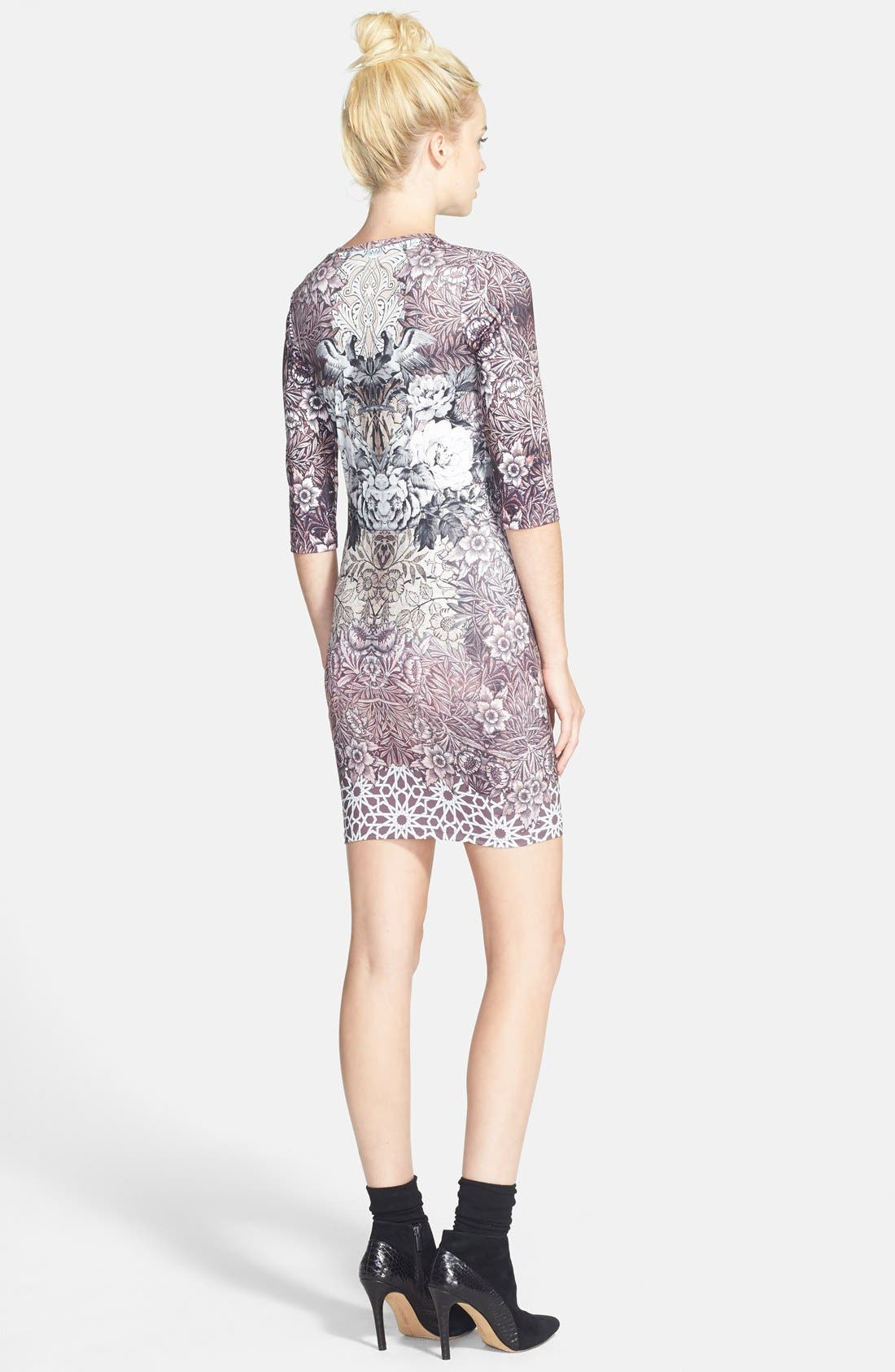 Alternate Image 2  - Topshop Print Body-Con Minidress (Nordstrom Exclusive)