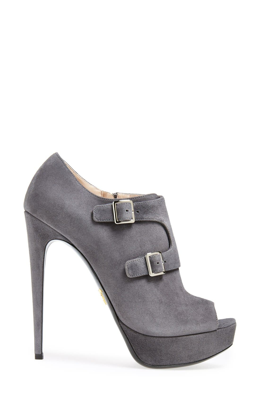 Alternate Image 4  - Prada Monk Strap Bootie (Women)