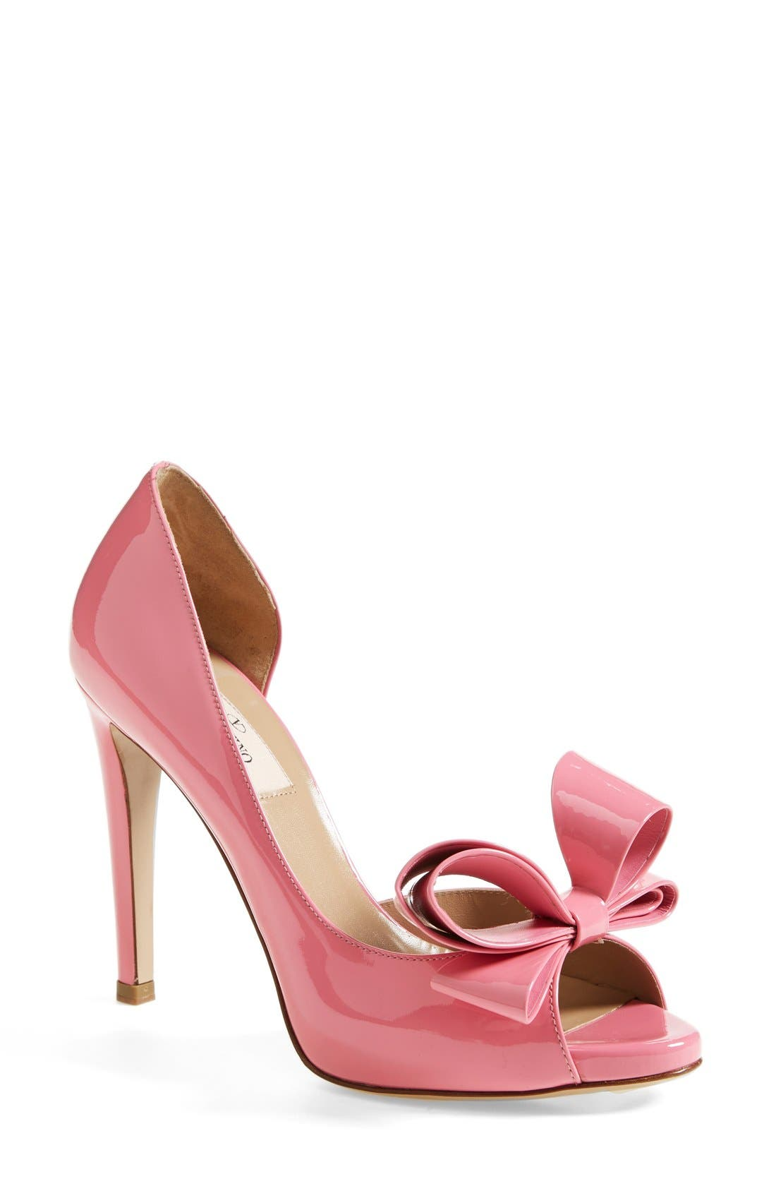 Alternate Image 1 Selected - Valentino 'Couture Bow' d'Orsay Pump (Women)