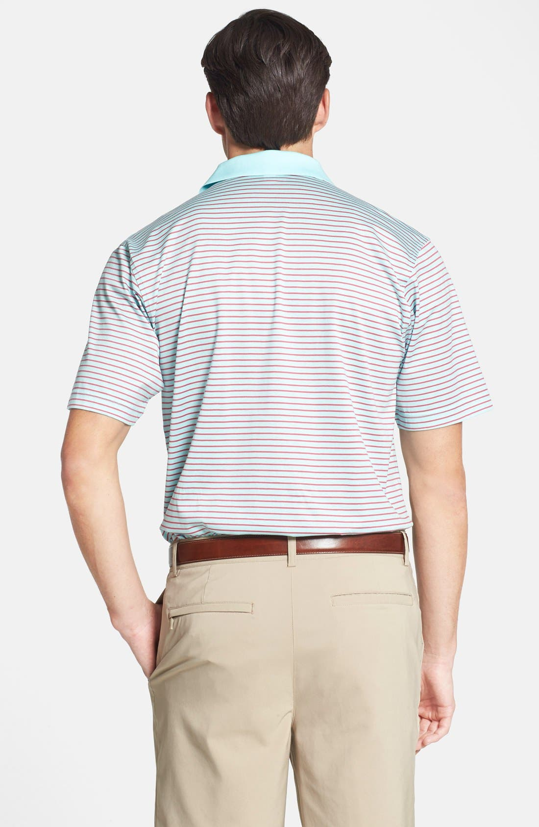 Alternate Image 2  - Peter Millar 'Kilffman' Stripe Knit Polo