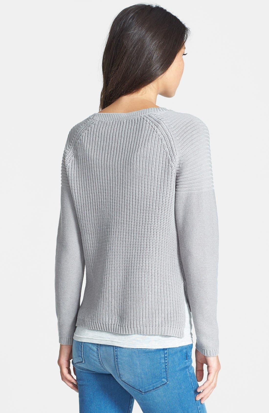 Alternate Image 2  - Dex Rib Knit Crop Sweater