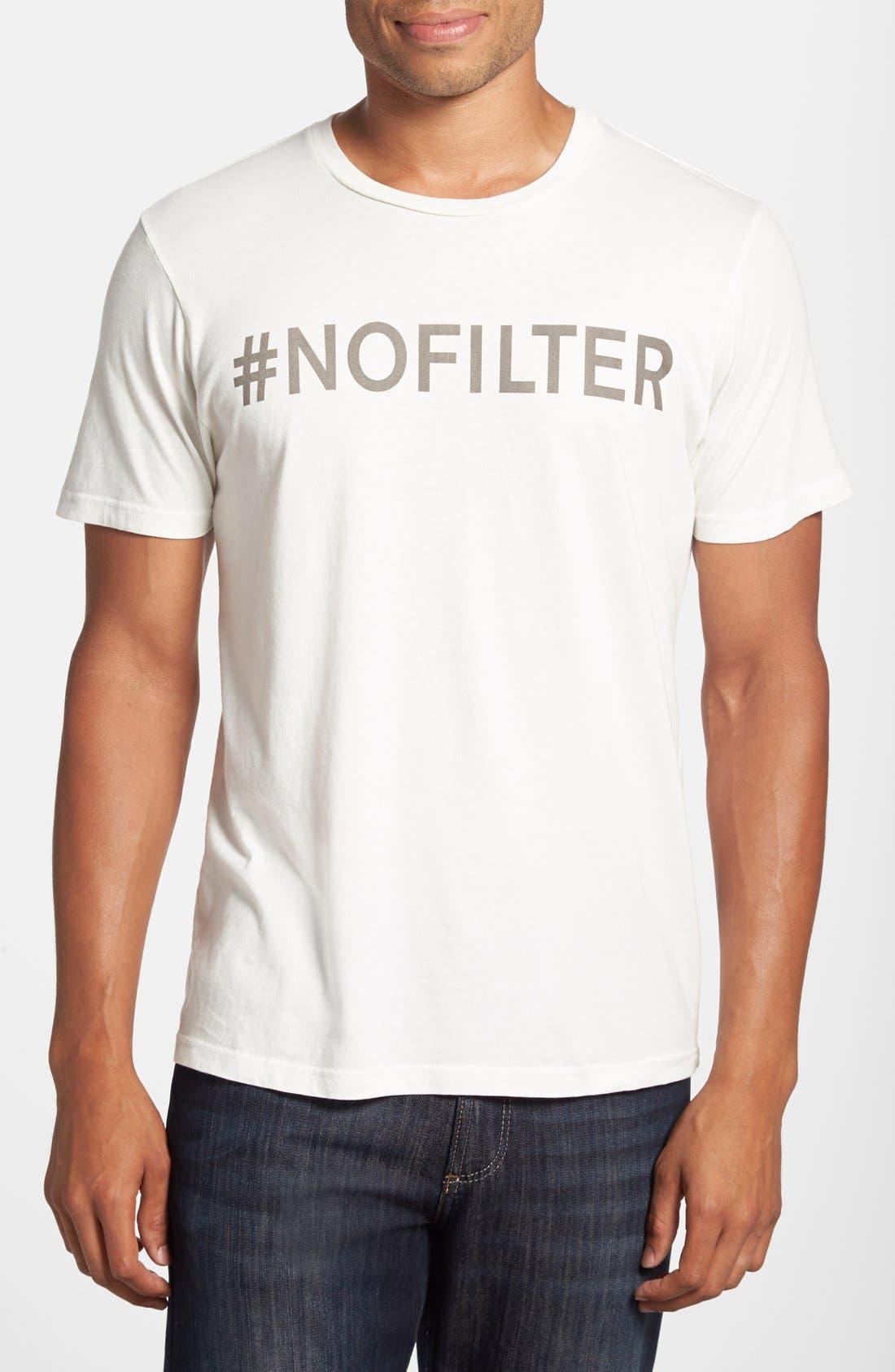 Alternate Image 1 Selected - Junk Food 'No Filter' Graphic T-Shirt