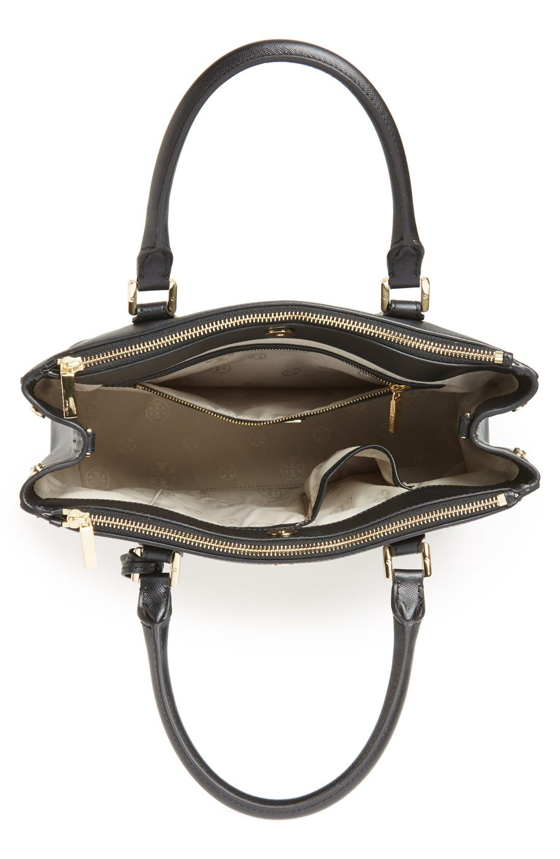 Alternate Image 2  - Tory Burch 'Robinson - Mini' Double Zip Tote