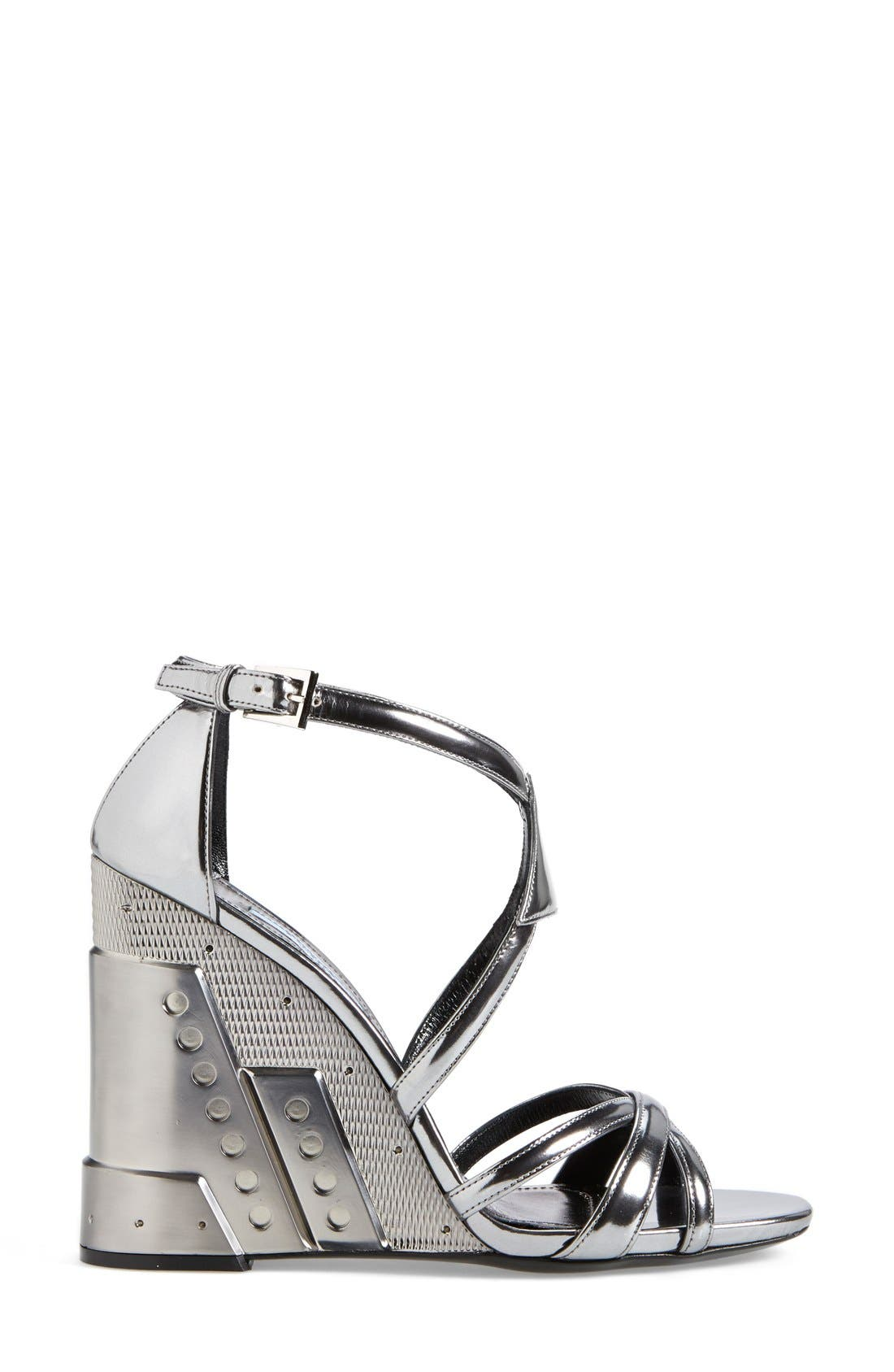Alternate Image 4  - Prada Leather Wedge (Women)