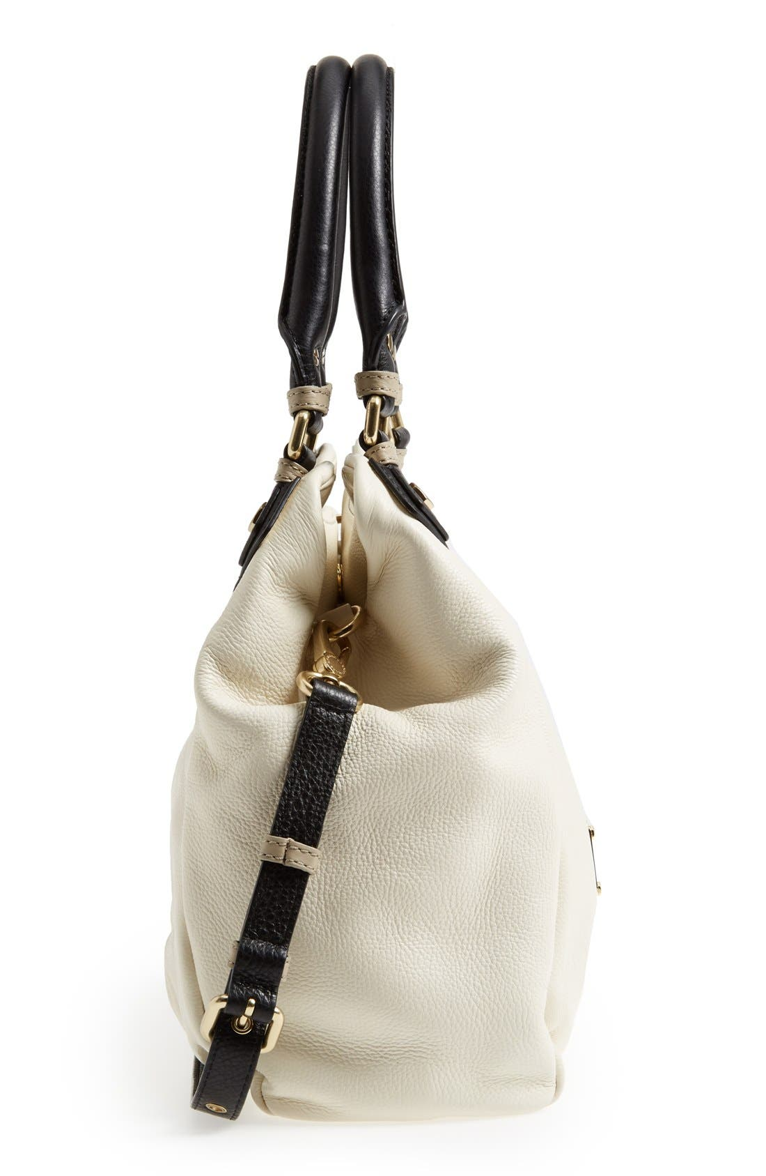 Alternate Image 2  - MARC BY MARC JACOBS 'Classic Q - Fran' Colorblock Leather Shopper