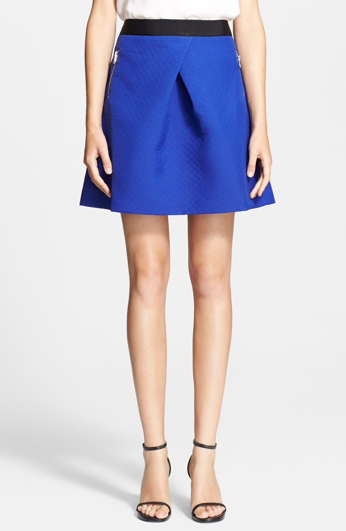 Alternate Image 1 Selected - Ted Baker London Zip Pocket Skater Skirt