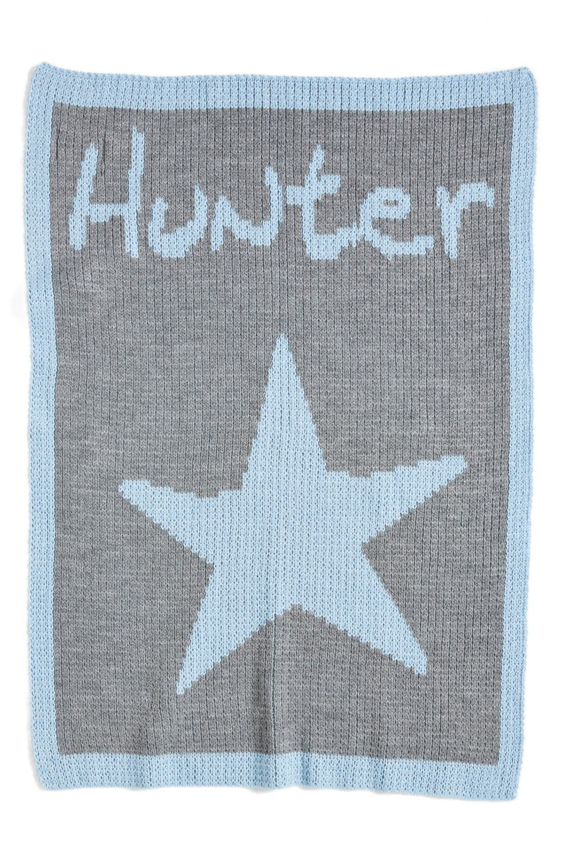 Main Image - Butterscotch Blankees 'Star' Personalized Crib Blanket