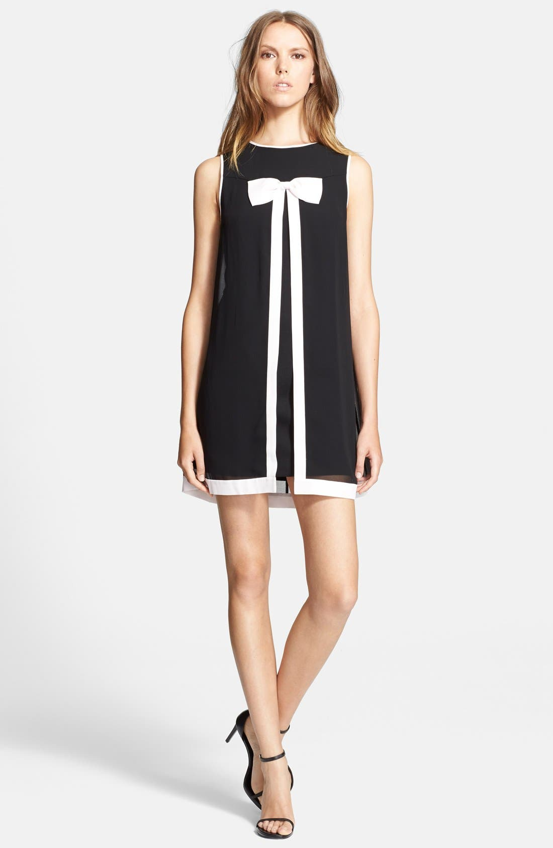 Alternate Image 1 Selected - Ted Baker London Bow Detail Swing Dress