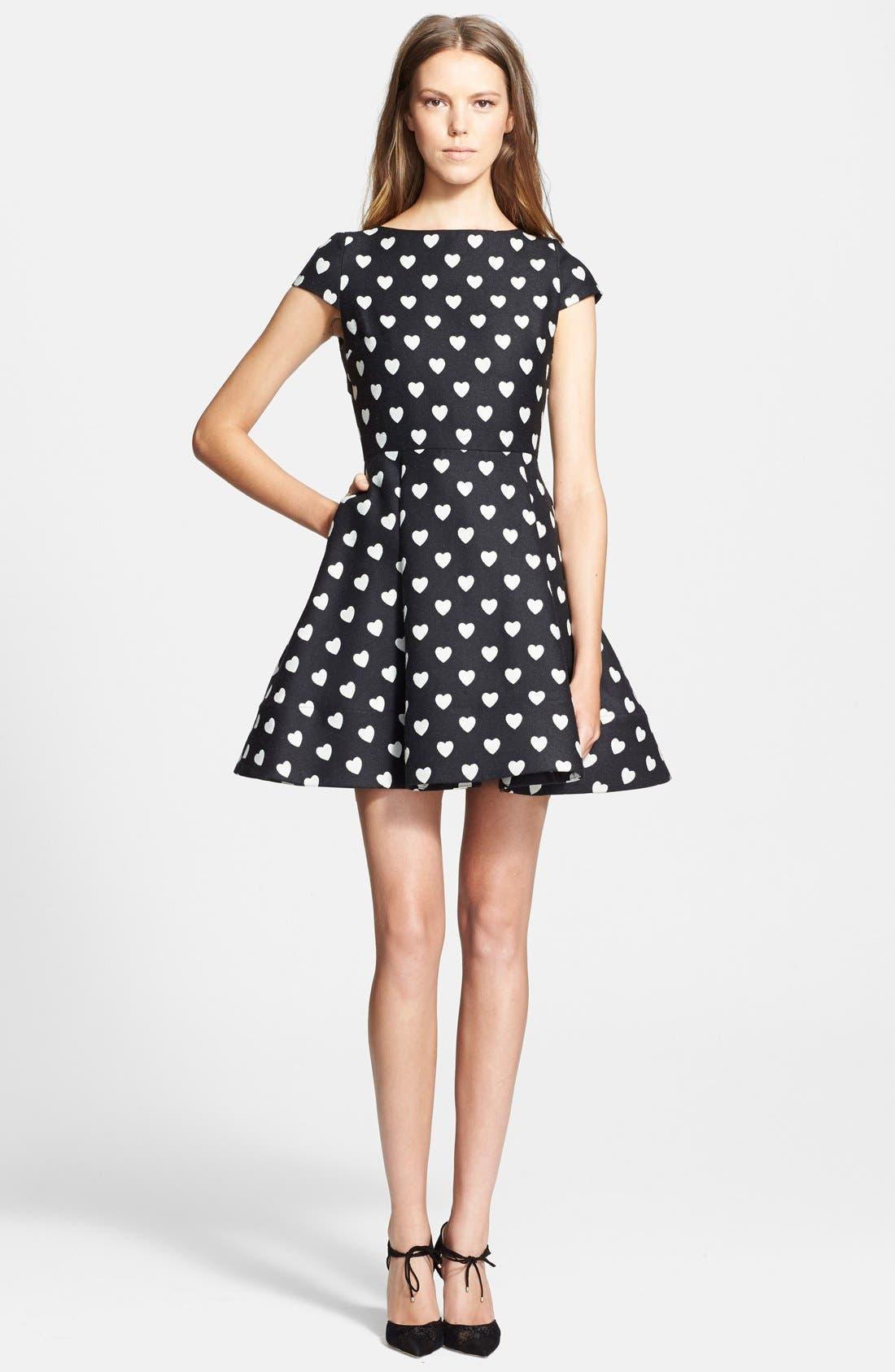 Alternate Image 1 Selected - Alice + Olivia 'Amor' Fit & Flare Dress