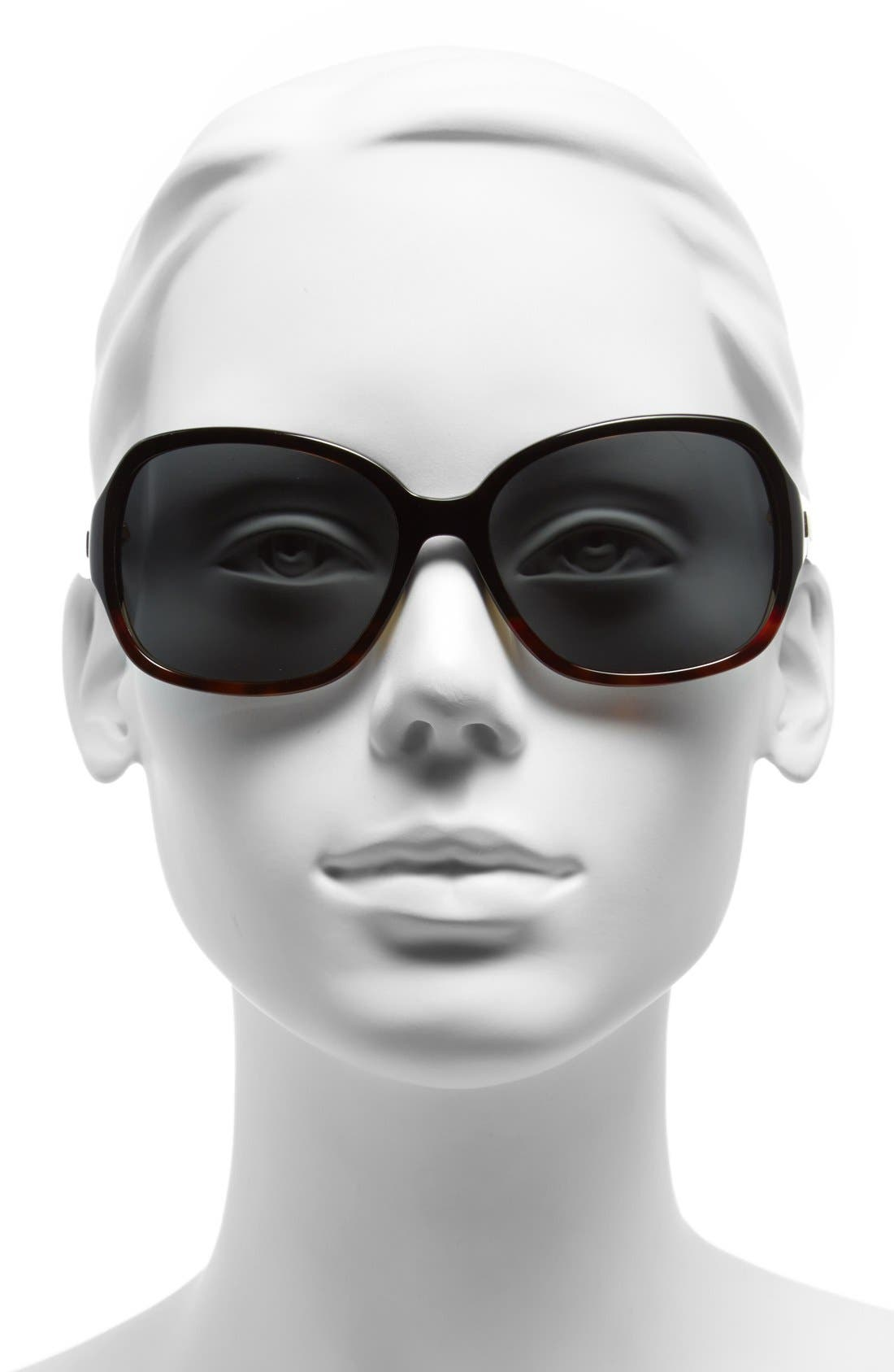Alternate Image 2  - kate spade new york laney 57mm polarized sunglasses