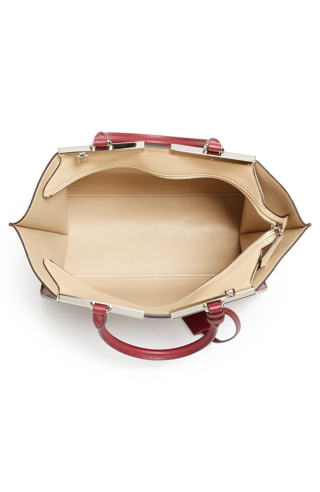 Alternate Image 3  - Fendi 'Petit 3Jours' Leather Shopper