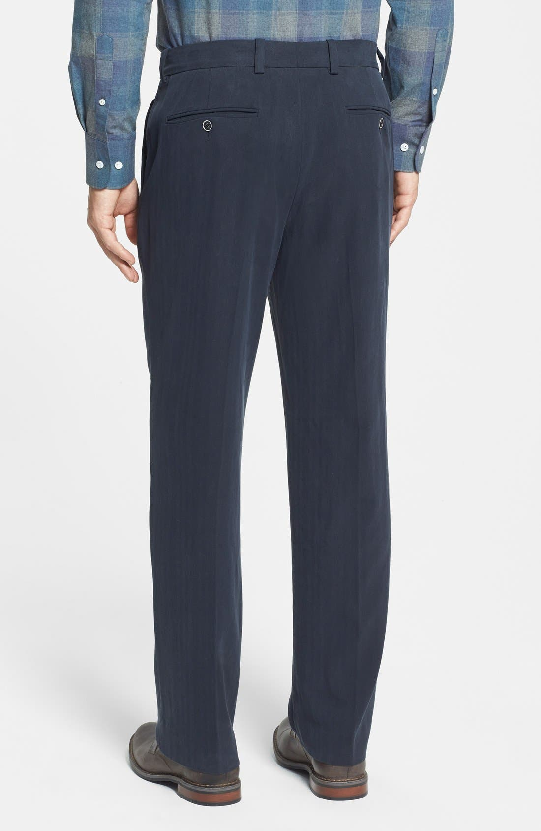 Alternate Image 2  - Tommy Bahama 'Flying Fishbone' Flat Front Pants