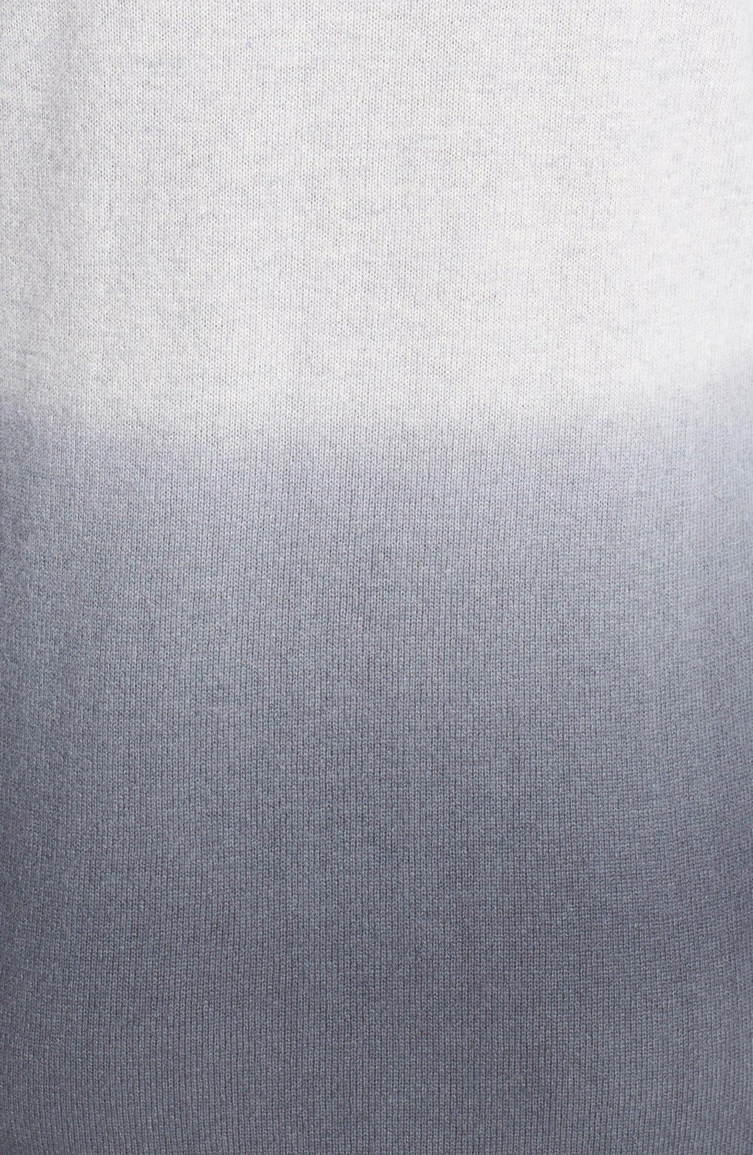 Alternate Image 4  - Only Mine Dip Dye Wool & Cashmere Sweater Dress (Regular & Petite)