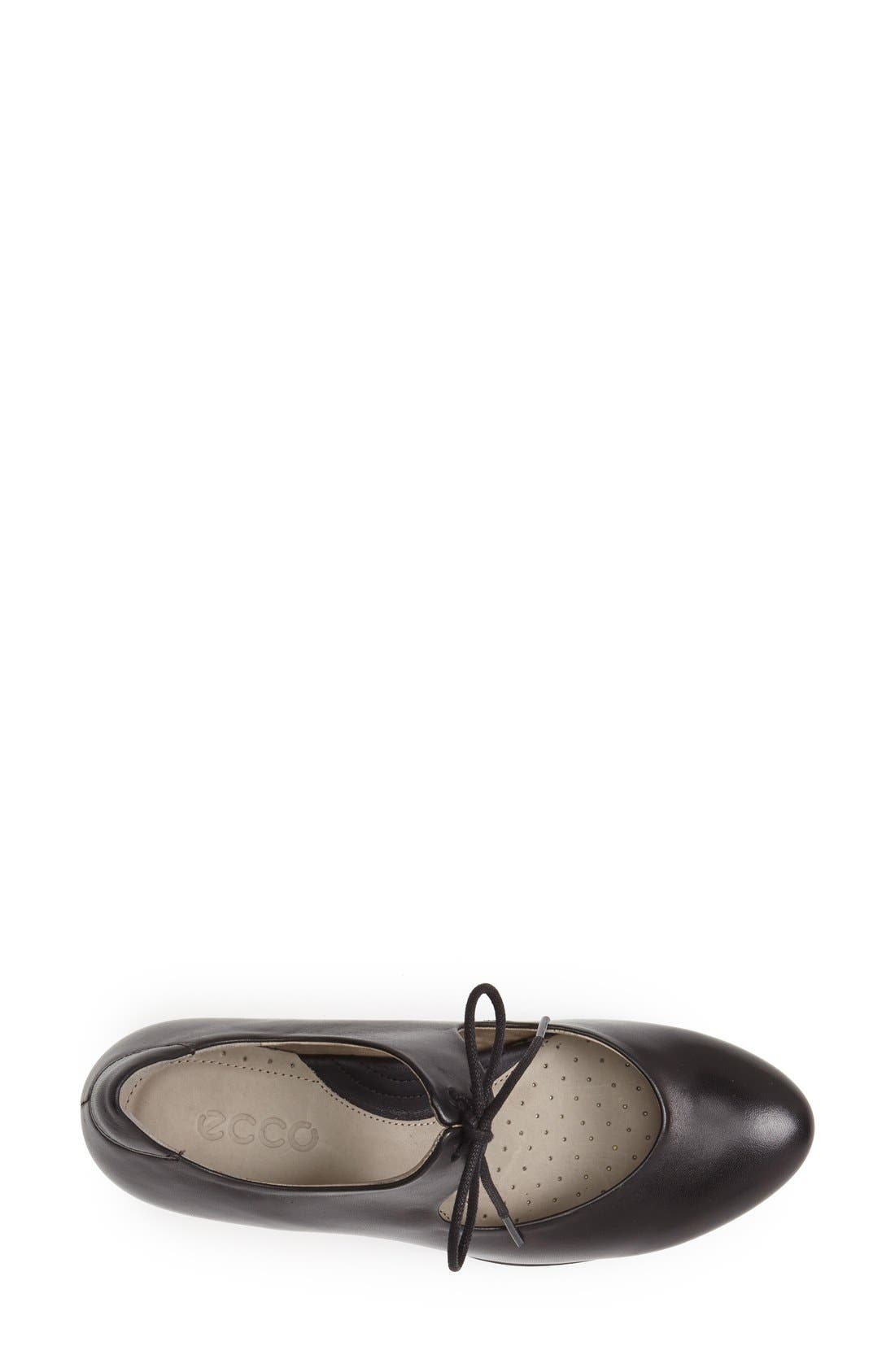 Alternate Image 3  - ECCO 'Sculptured 45' Leather Mary Jane Wedge Pump (Women)